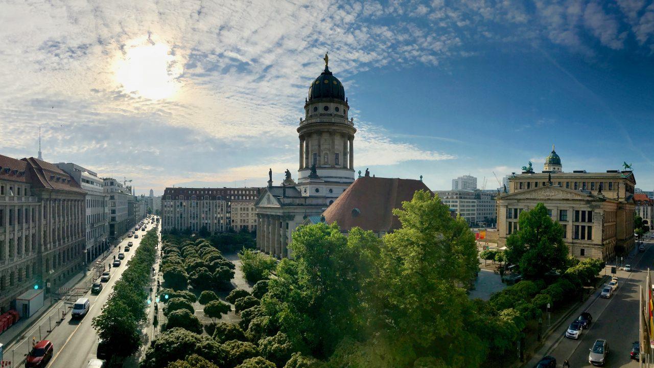 Himmelblau über Berlin, Sofitel Gendarmenmarkt
