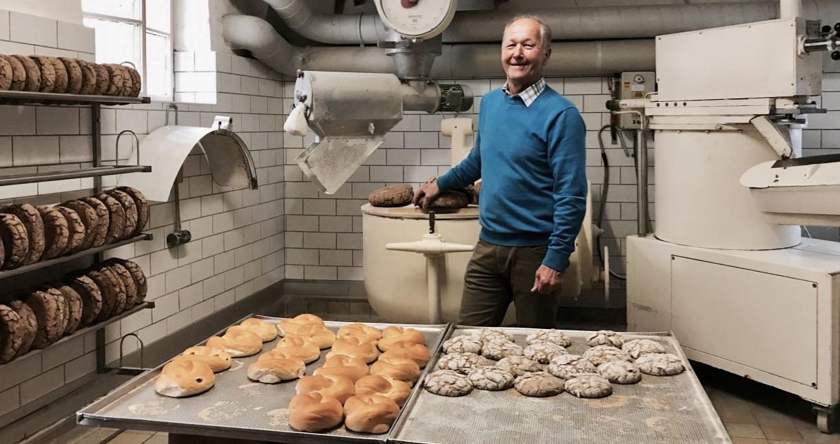 St. Peter Stiftsbäckerei, hier wird das leckere Salzburger Brot noch traditionell gebackenen