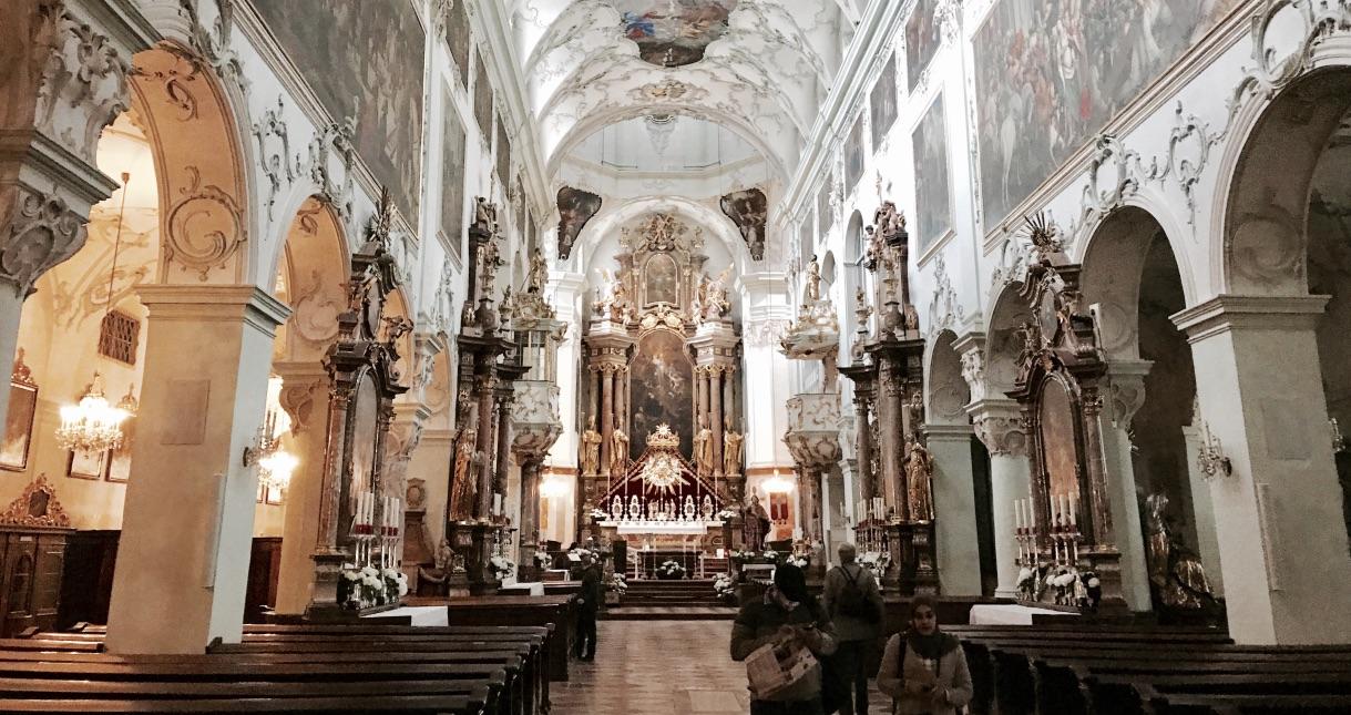 Salzburg, die Stadt der vielen schönen Kirchen