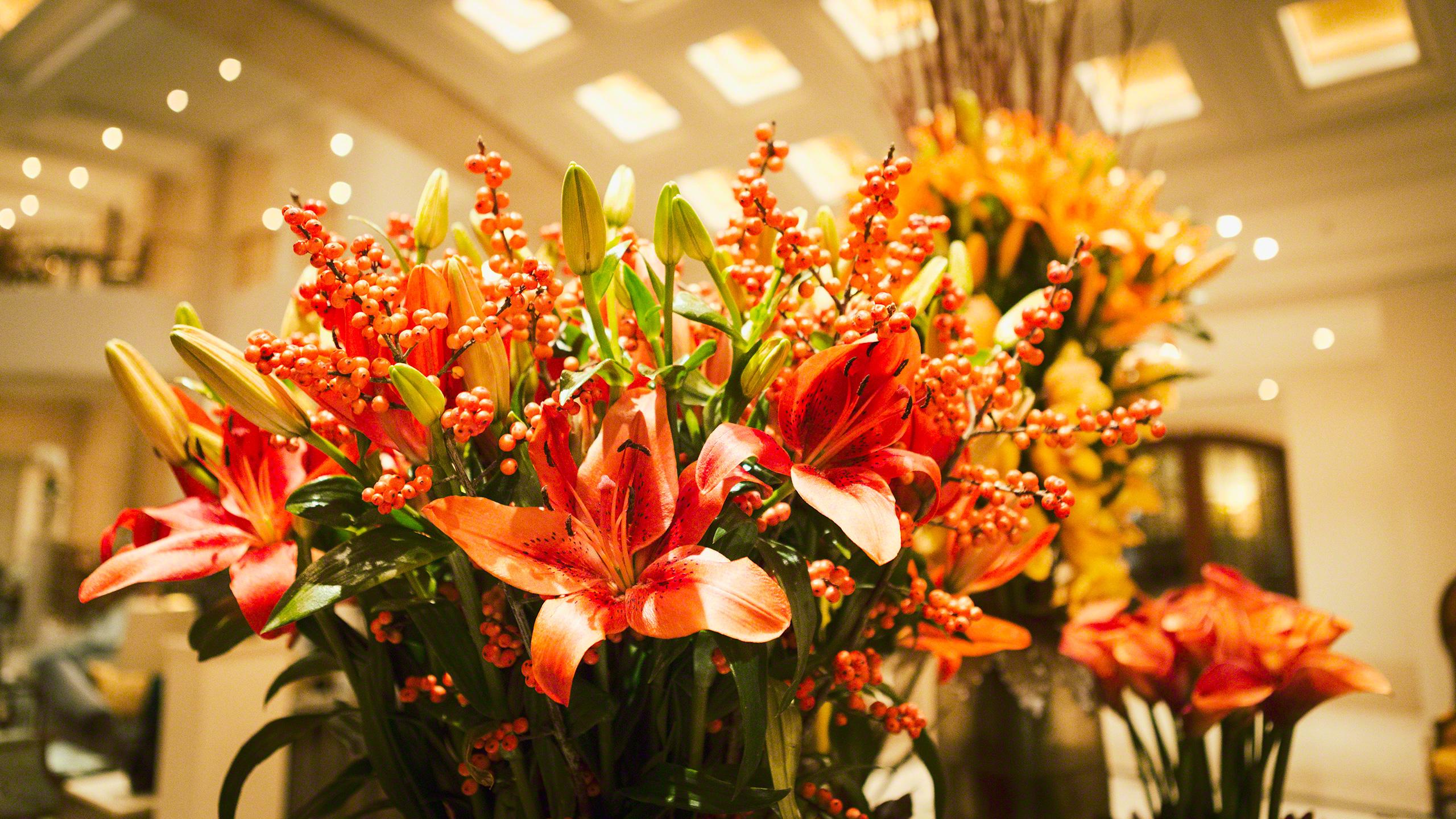 Luxushotel Adlon Kempinski Berlin Blumen