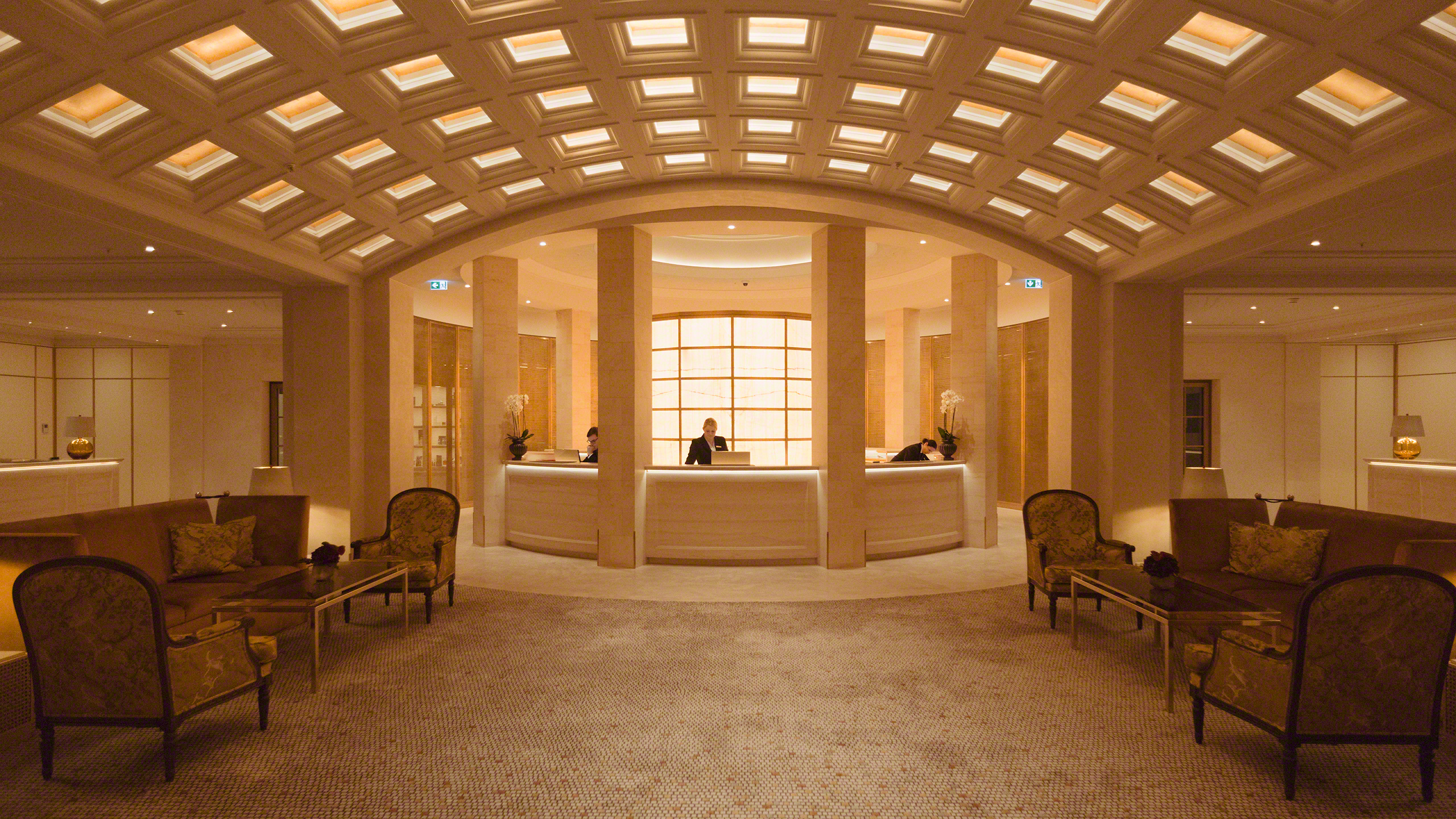 Luxushotel Adlon Kempinski Berlin Empfang
