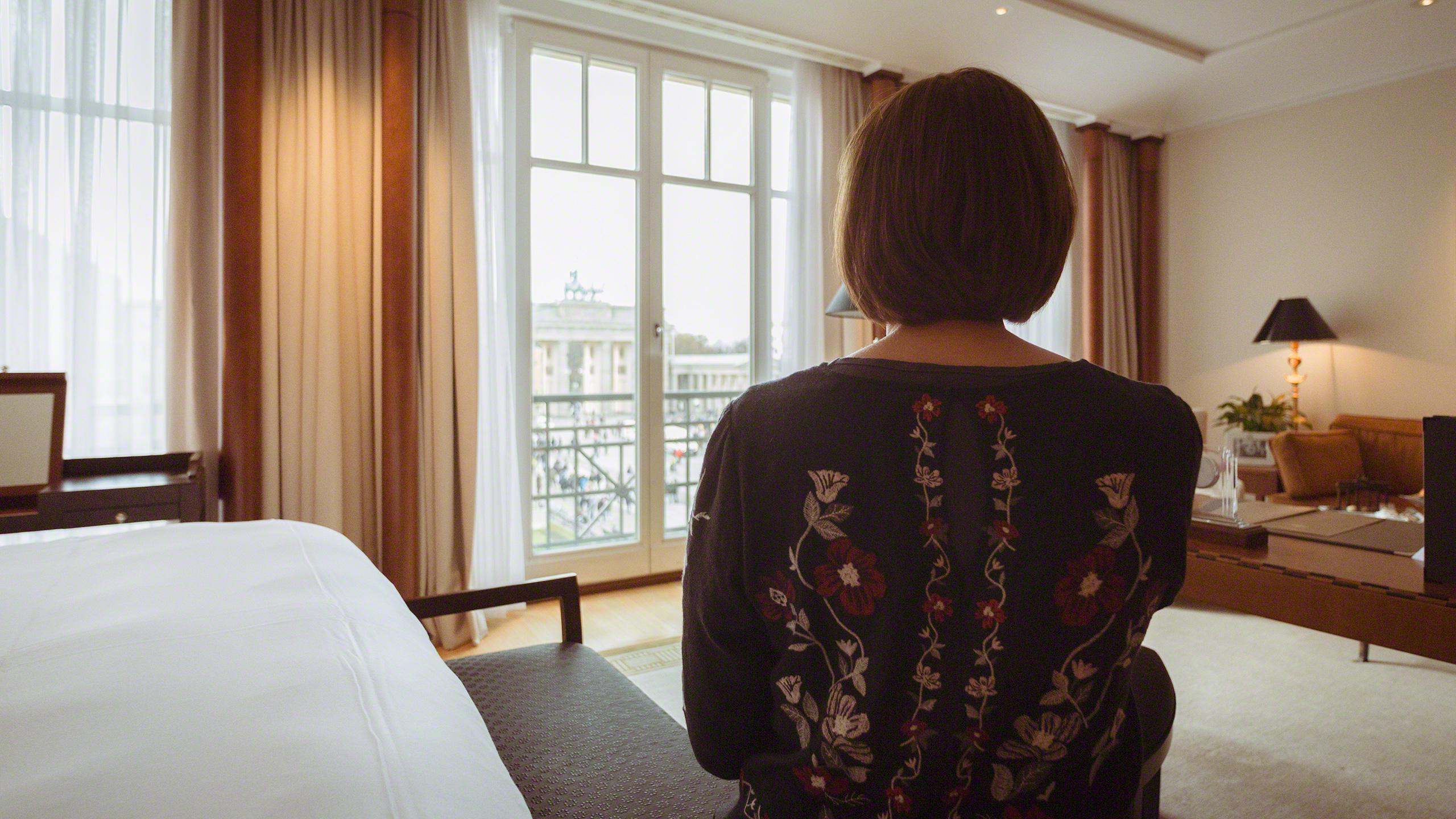 Luxushotel Adlon Kempinski Berlin Suite Ausblick