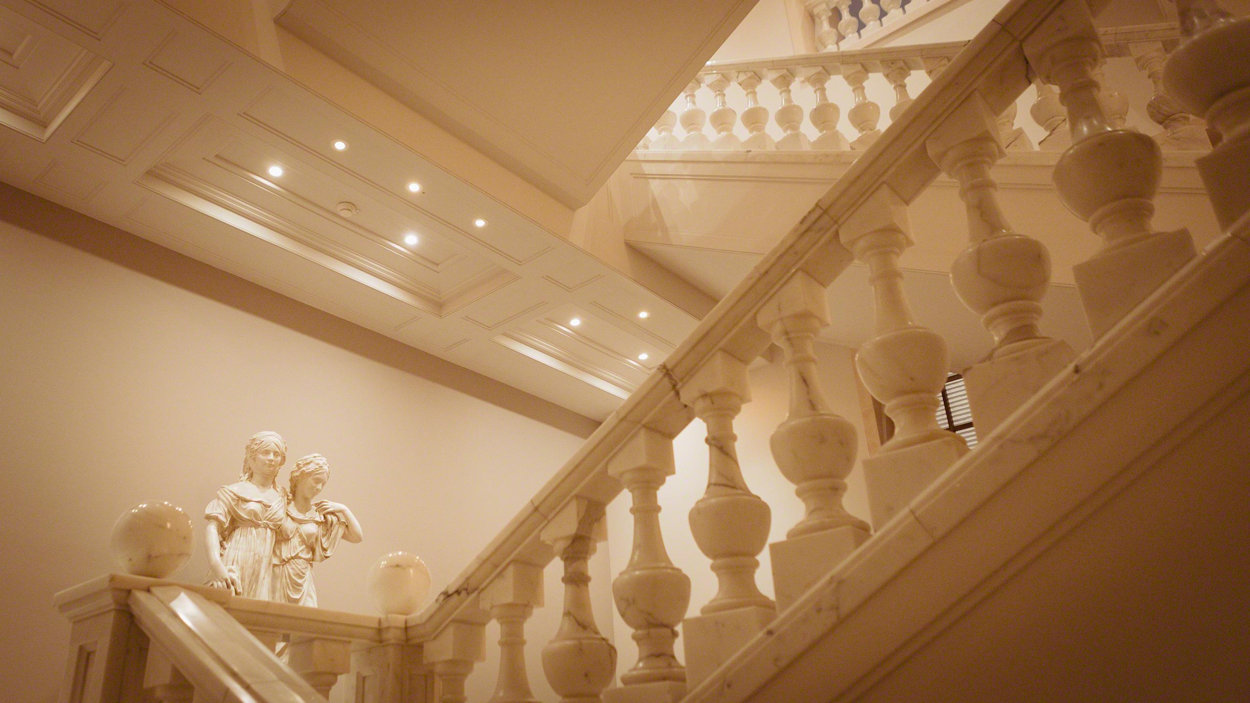 Luxushotel Adlon Kempinski Treppenhaus