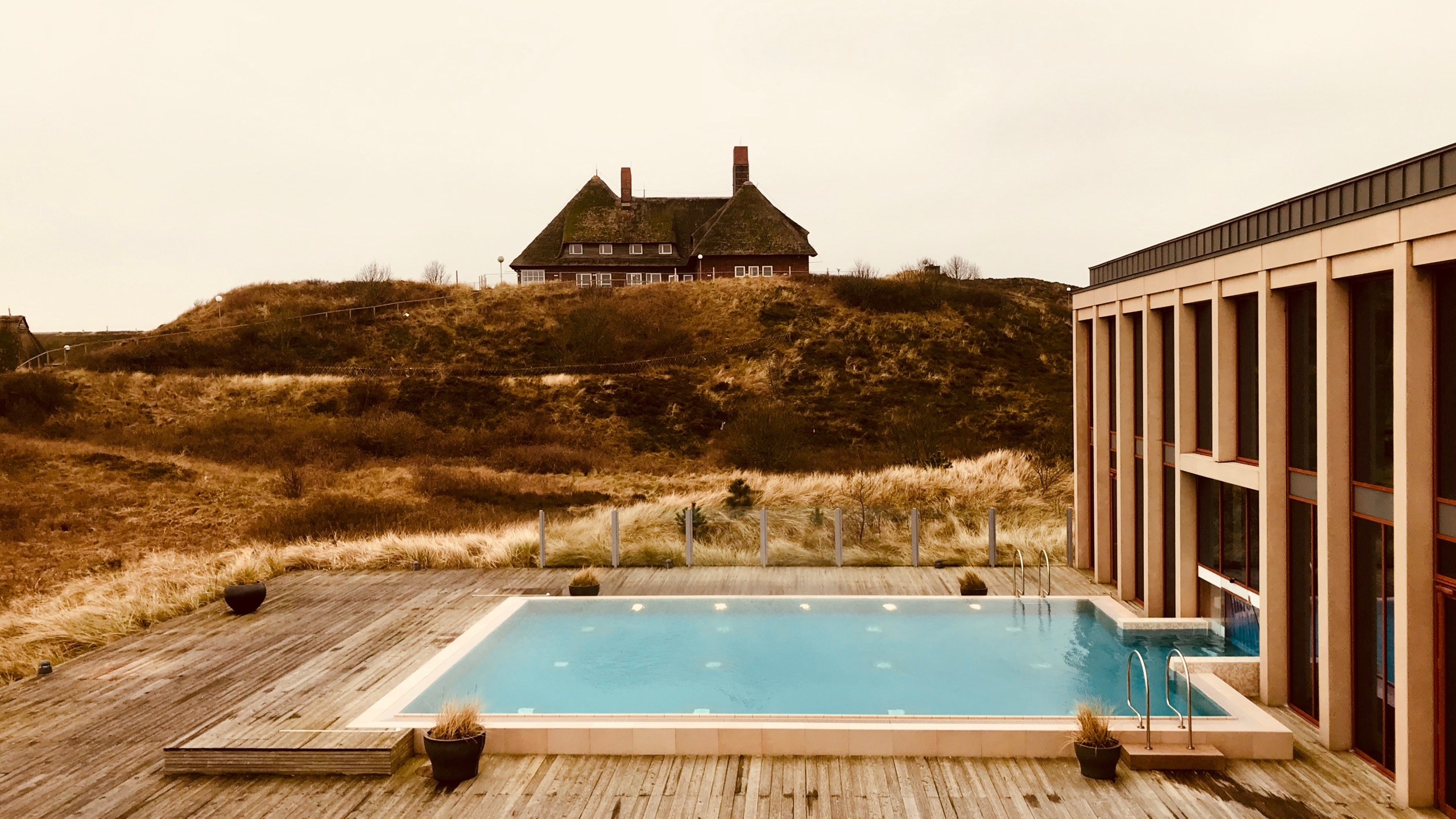 Sylt A-ROSA Hotel Spa SPA-ROSA Außen Pool