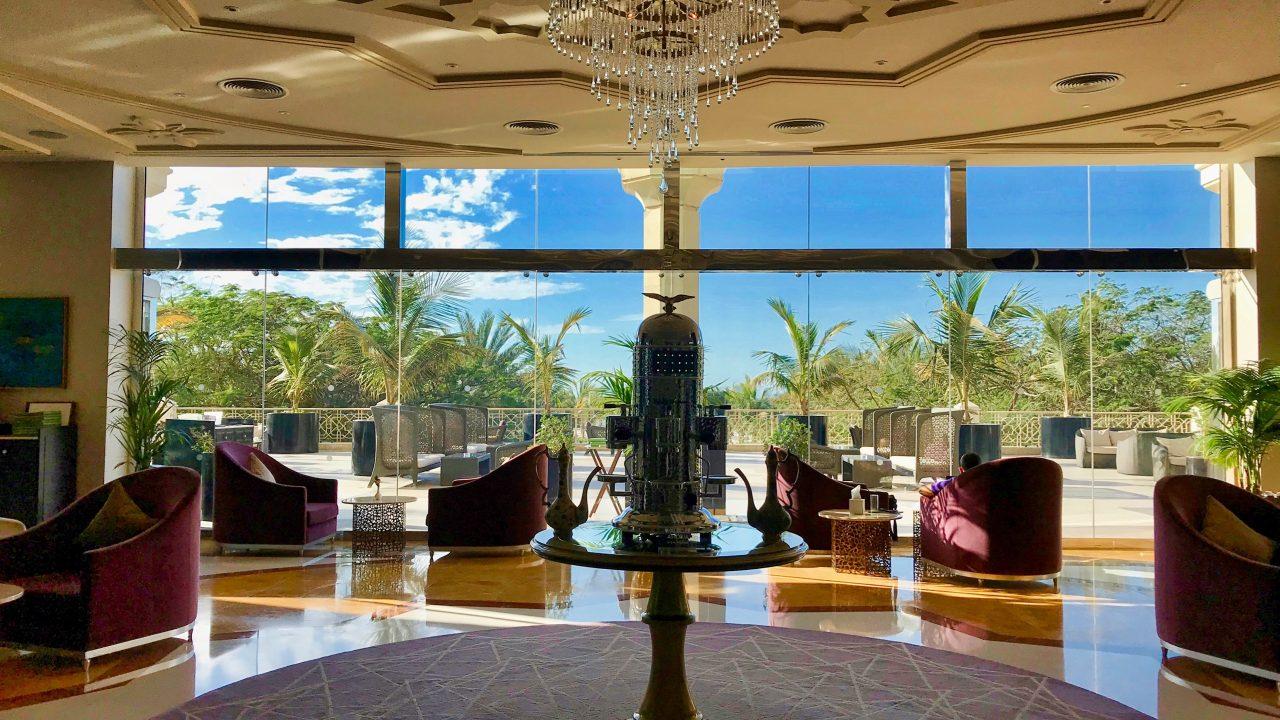 Hotel Waldorf Astoria Ras Al Khaimah Teelounge