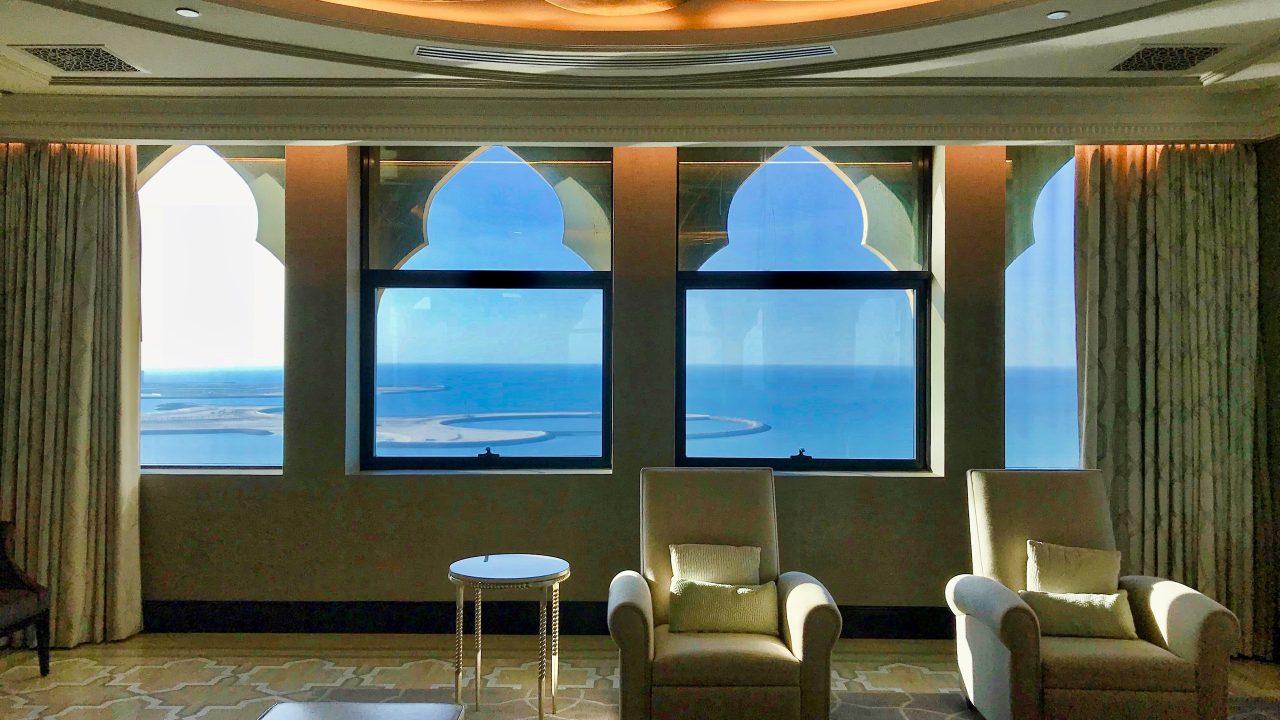 Hotel Waldorf Astoria Ras Al Khaimah_Imperial_Suite_Meerblick