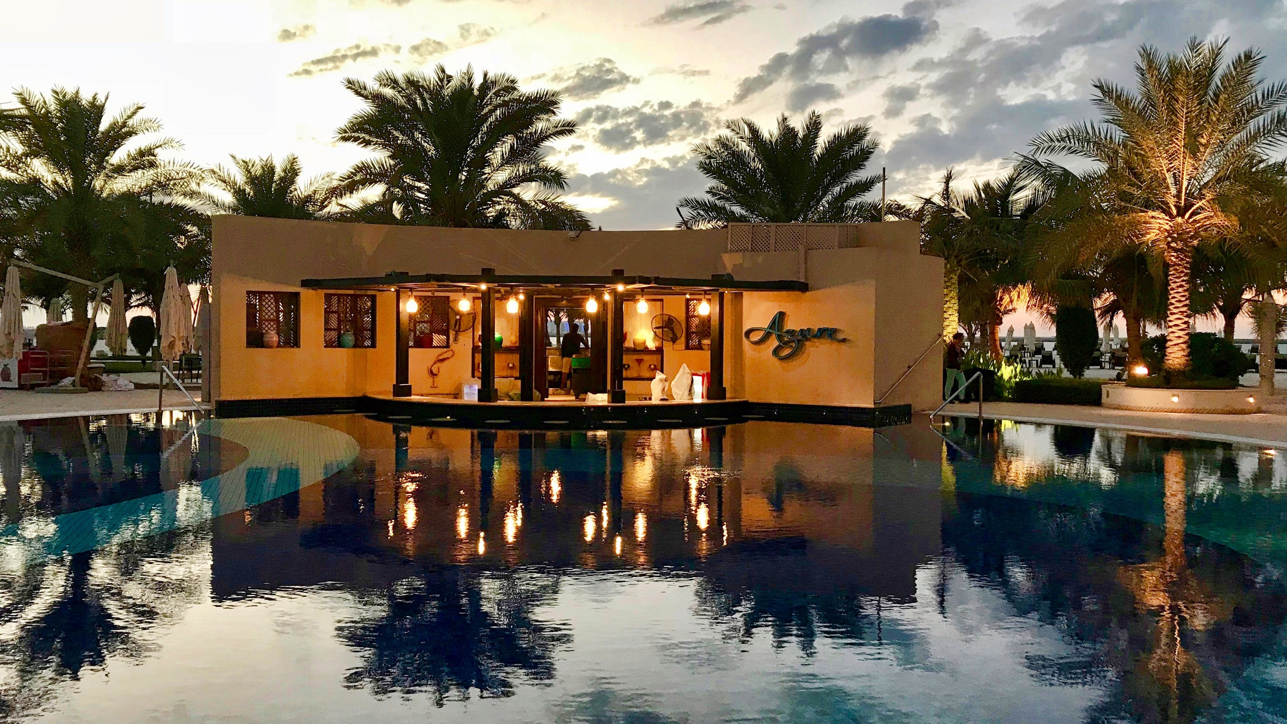 Hotel Waldorf Astoria Ras Al Khaimah Pool Bar