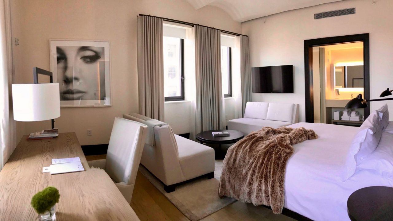 Hotel The New York EDITION Suite Schlafzimmer