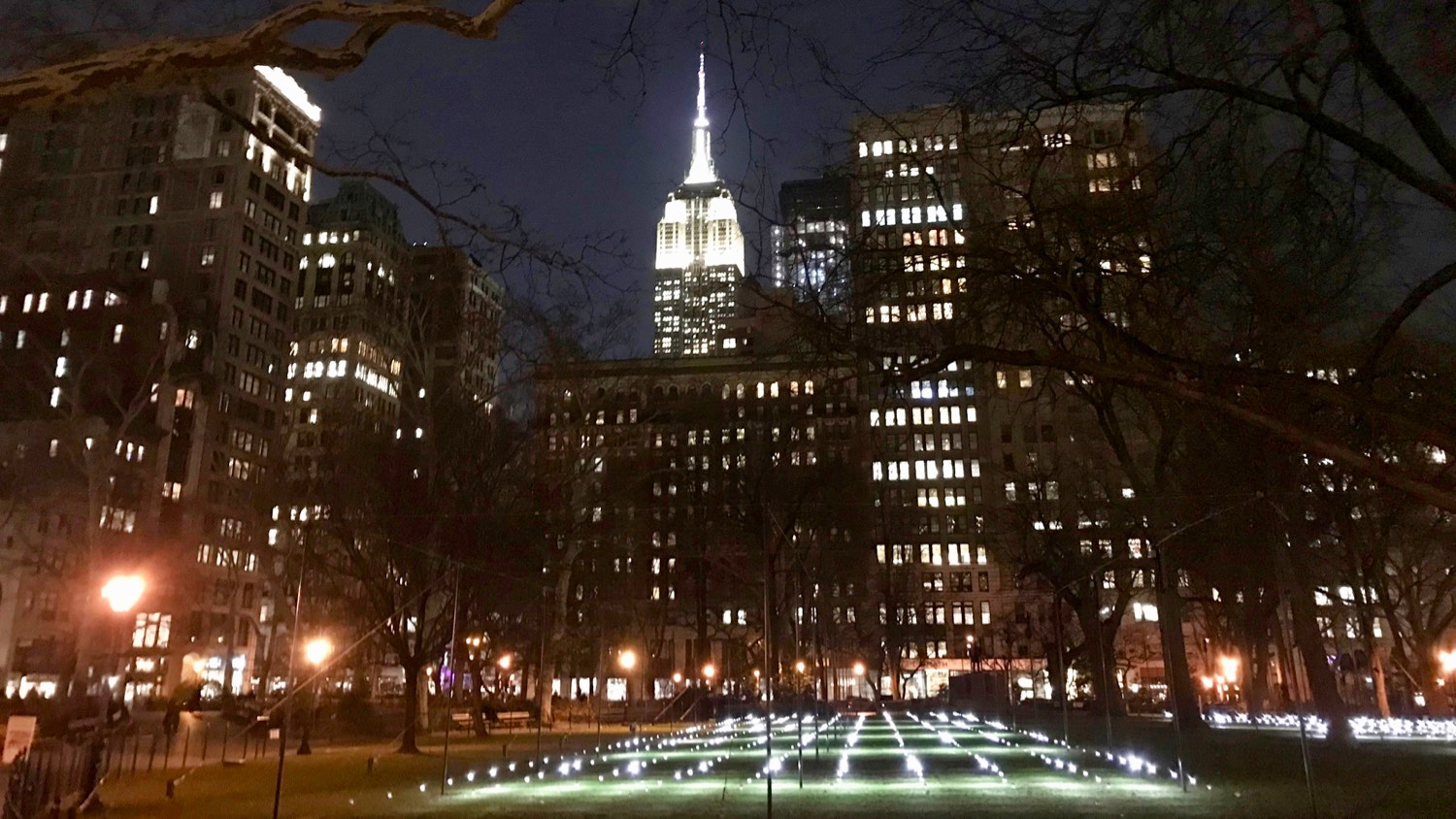 New York Eleven Madison Park Empire State Building