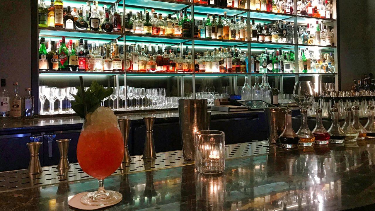 Restaurant Eleven Madison Park New York Bar Cocktail