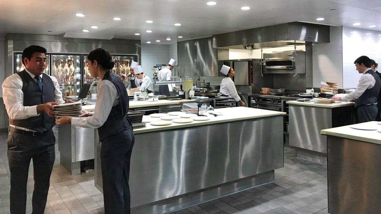 Restaurant Eleven Madison Park New York Küche 1