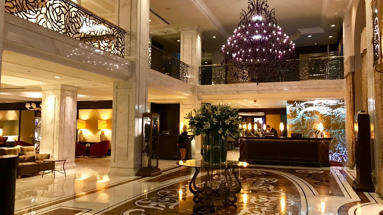 Luxushotel Baltschug Kempinski Moskau Lobby Empfang