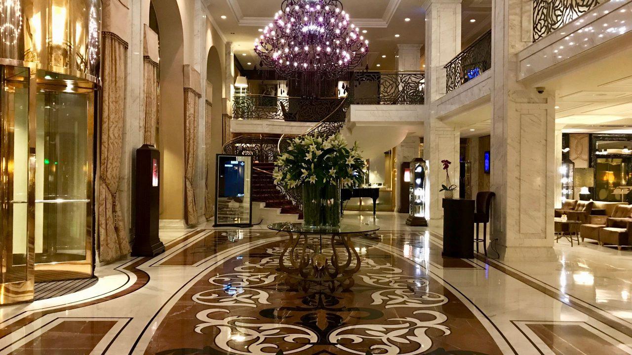 Luxushotel Baltschug Kempinski Moskau Lobby