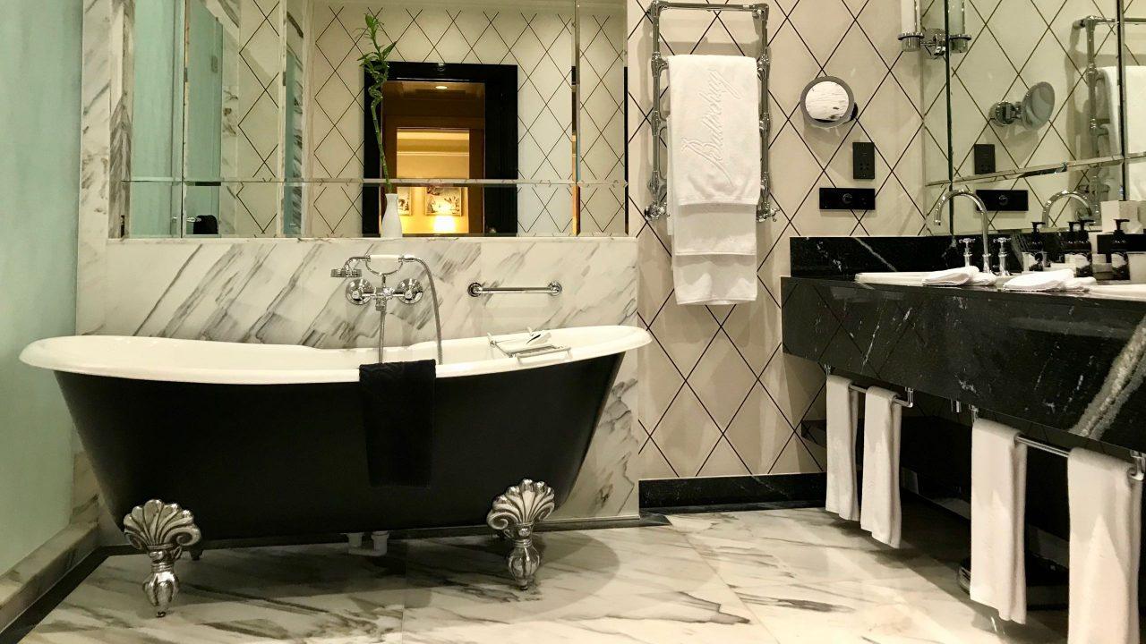Luxushotel Baltschug Kempinski Moskau Roter Platz Suite Bad