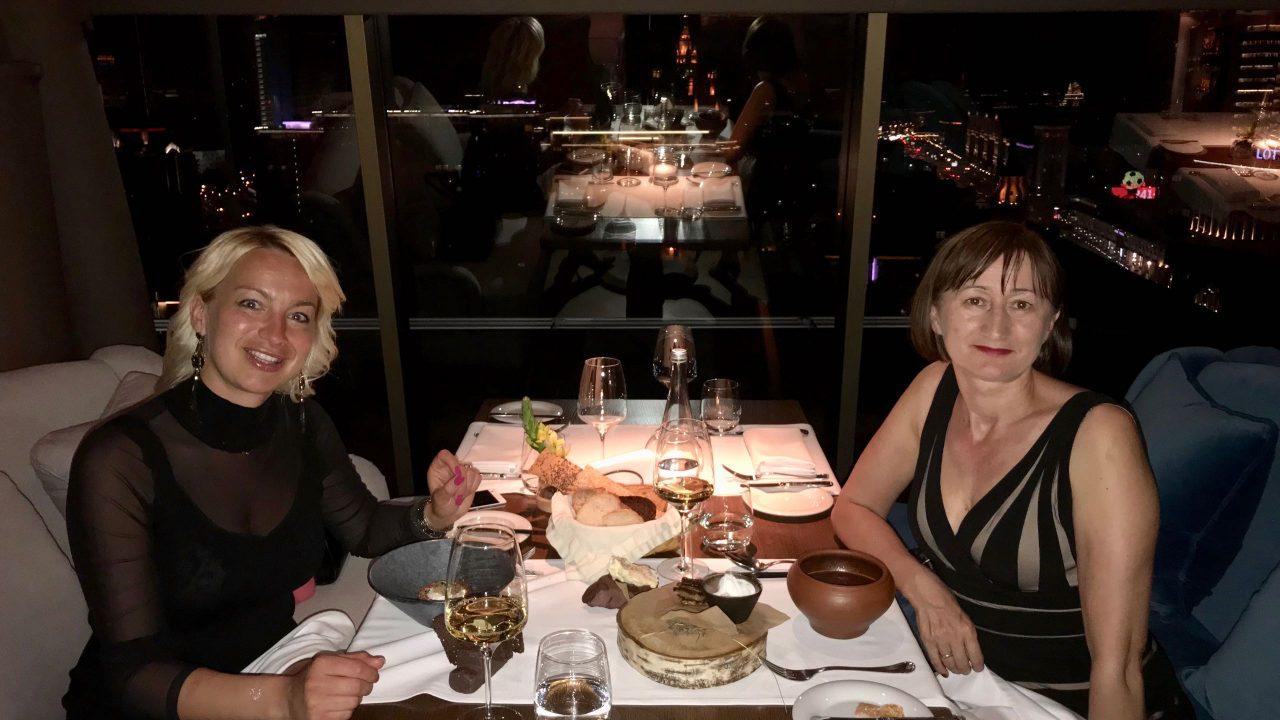 Moskau Dinner im Restaurant White Rabbit Kochstars Wladimir Mukhnin