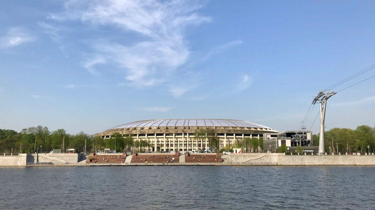 Olympiastadion Luschniki Moskau WM 2018 Seilbahn