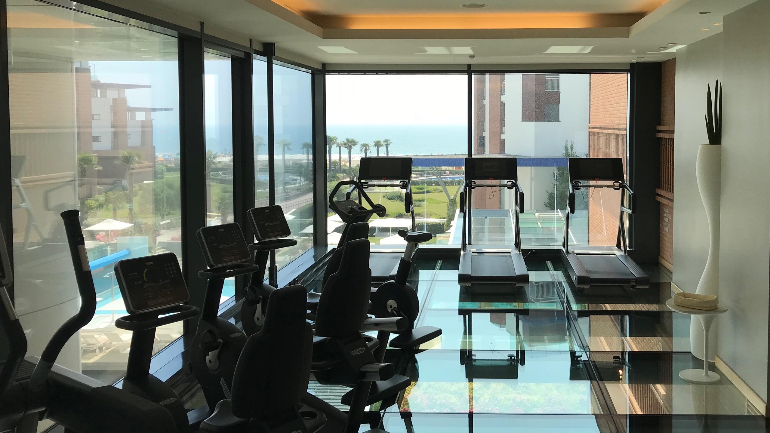 Almar Jesolo Resort & Spa Hotel Italien Fitnessstudio
