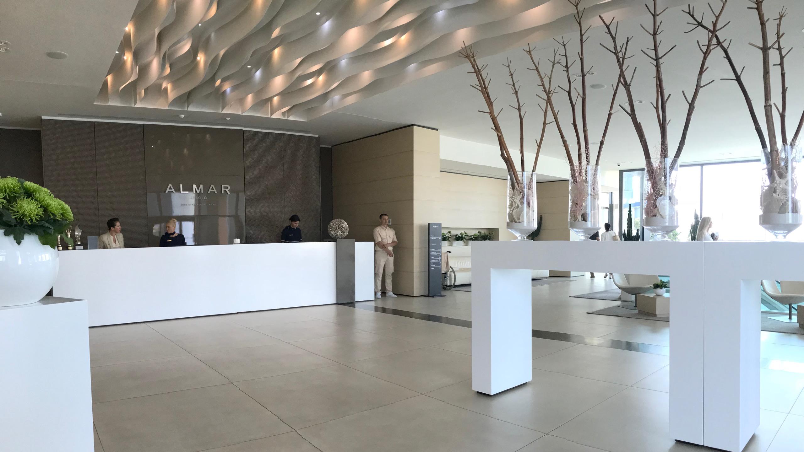 Almar Jesolo Resort & Spa Hotel Italien Lobby
