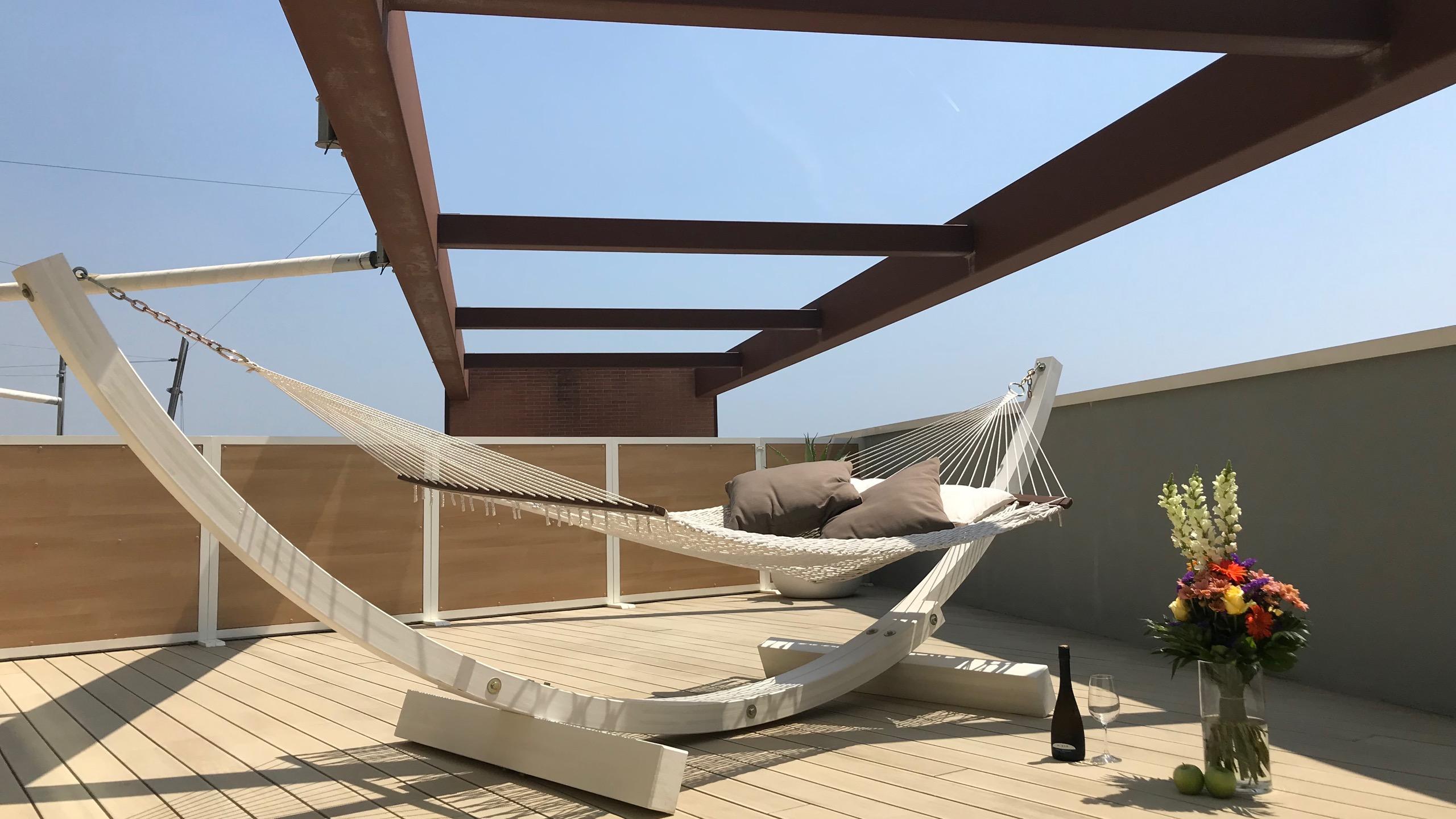 Almar Jesolo Resort & Spa Hotel Italien Sundeck Suite Hängematte