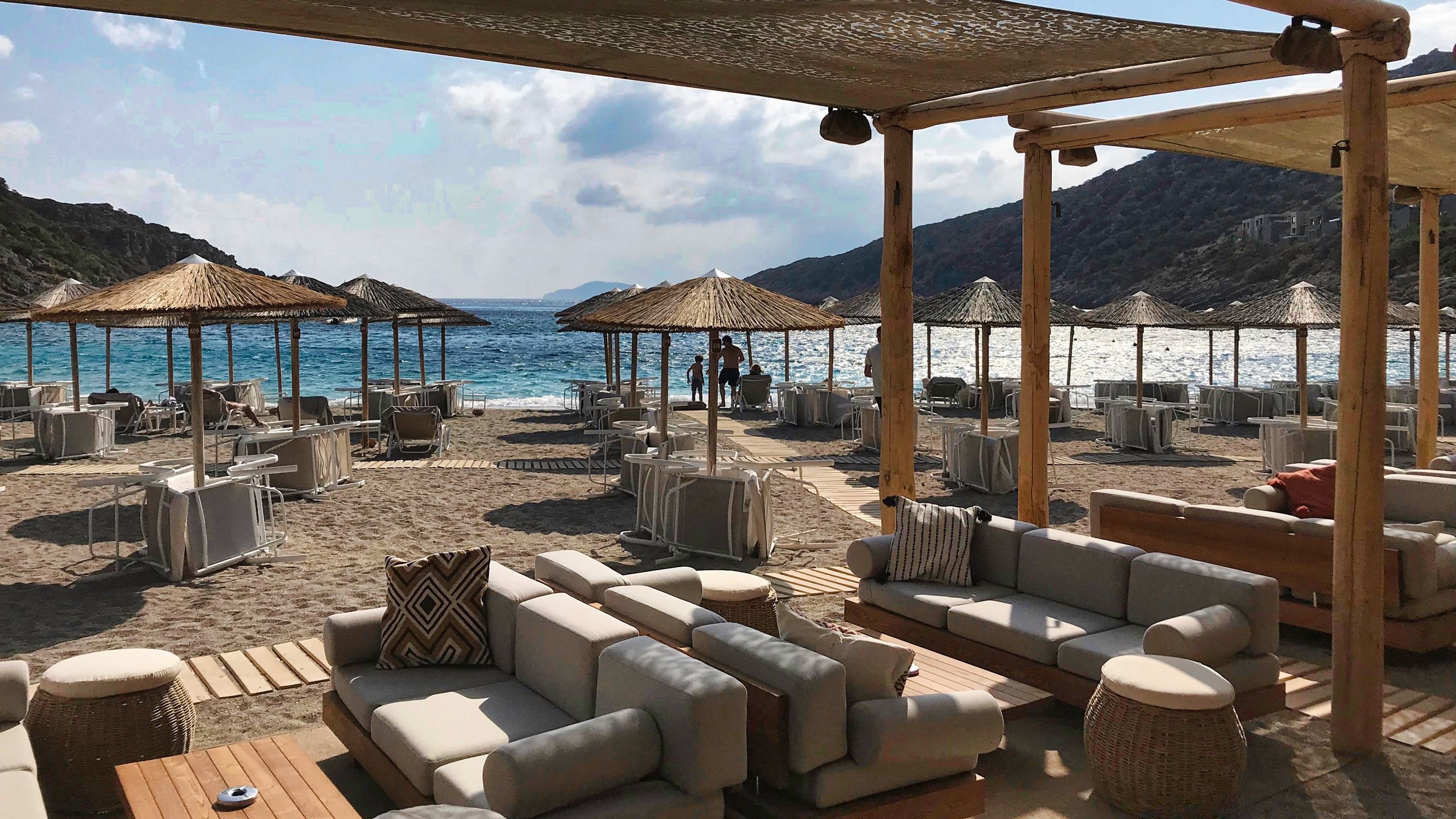 Hotel Daios Cove Kreta Beach Bar