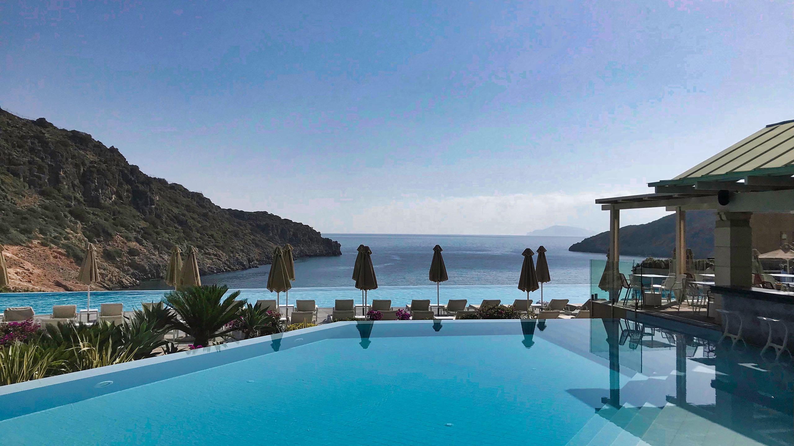 Hotel Daios Cove Kreta Infinity-Pool