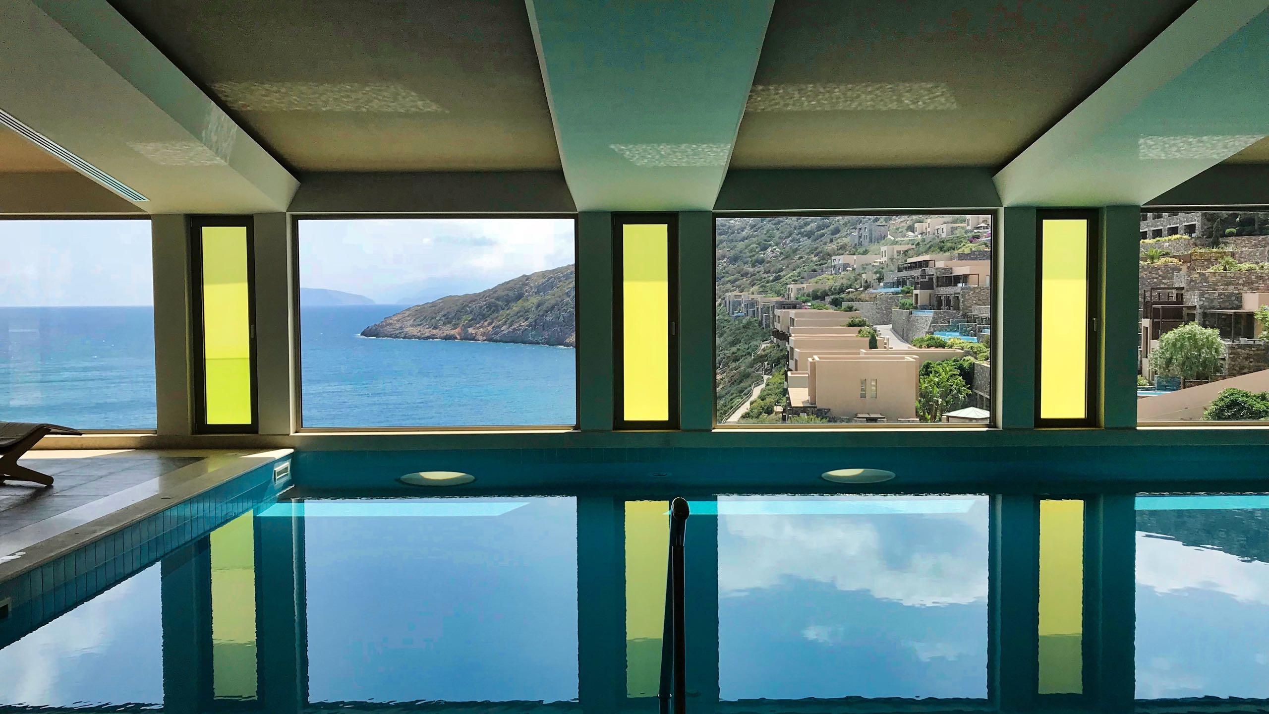 Hotel Daios Cove Kreta Innen-Pool