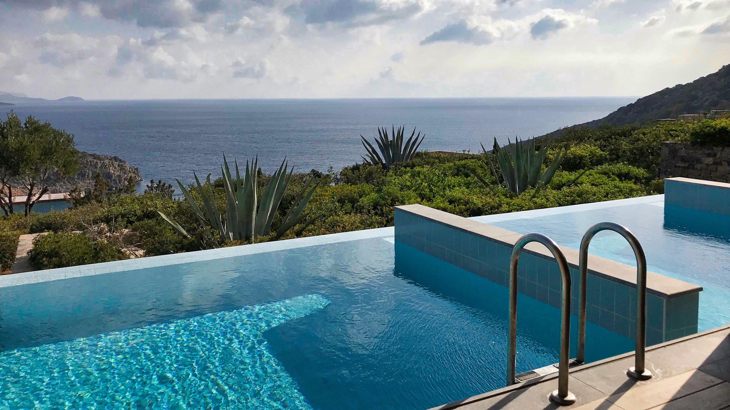 Hotel Daios Cove Kreta Zimmer Pool