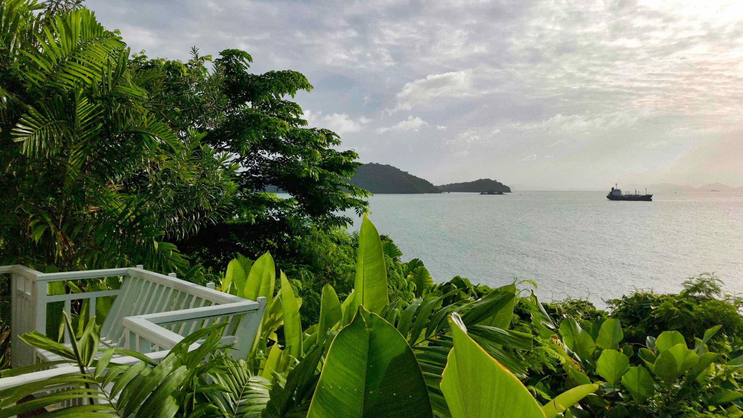 Amatara Wellness Resort Phuket Ocean Villa Blick