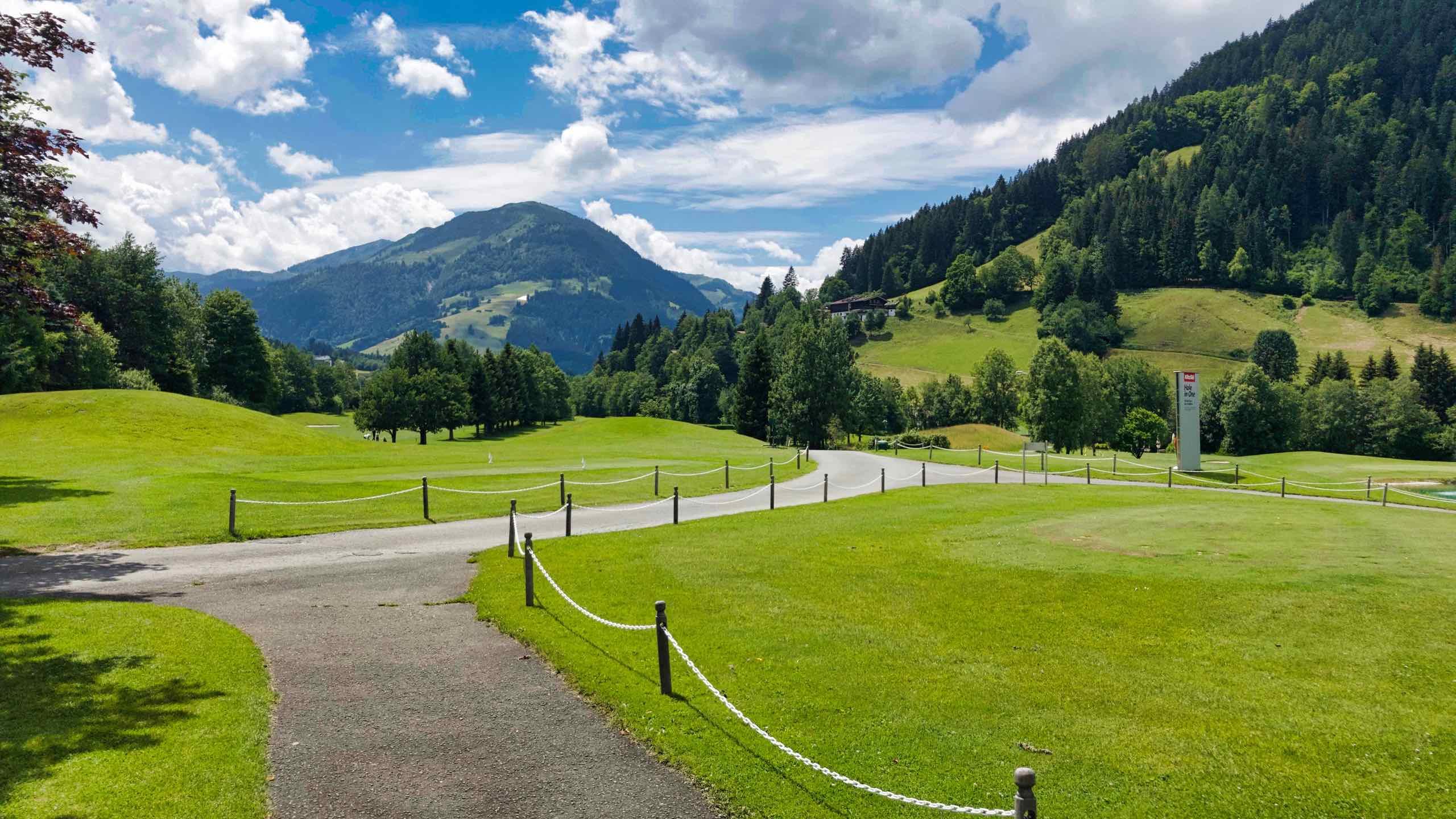 Kitzbühel Schwarzsee Reith Golfplatz