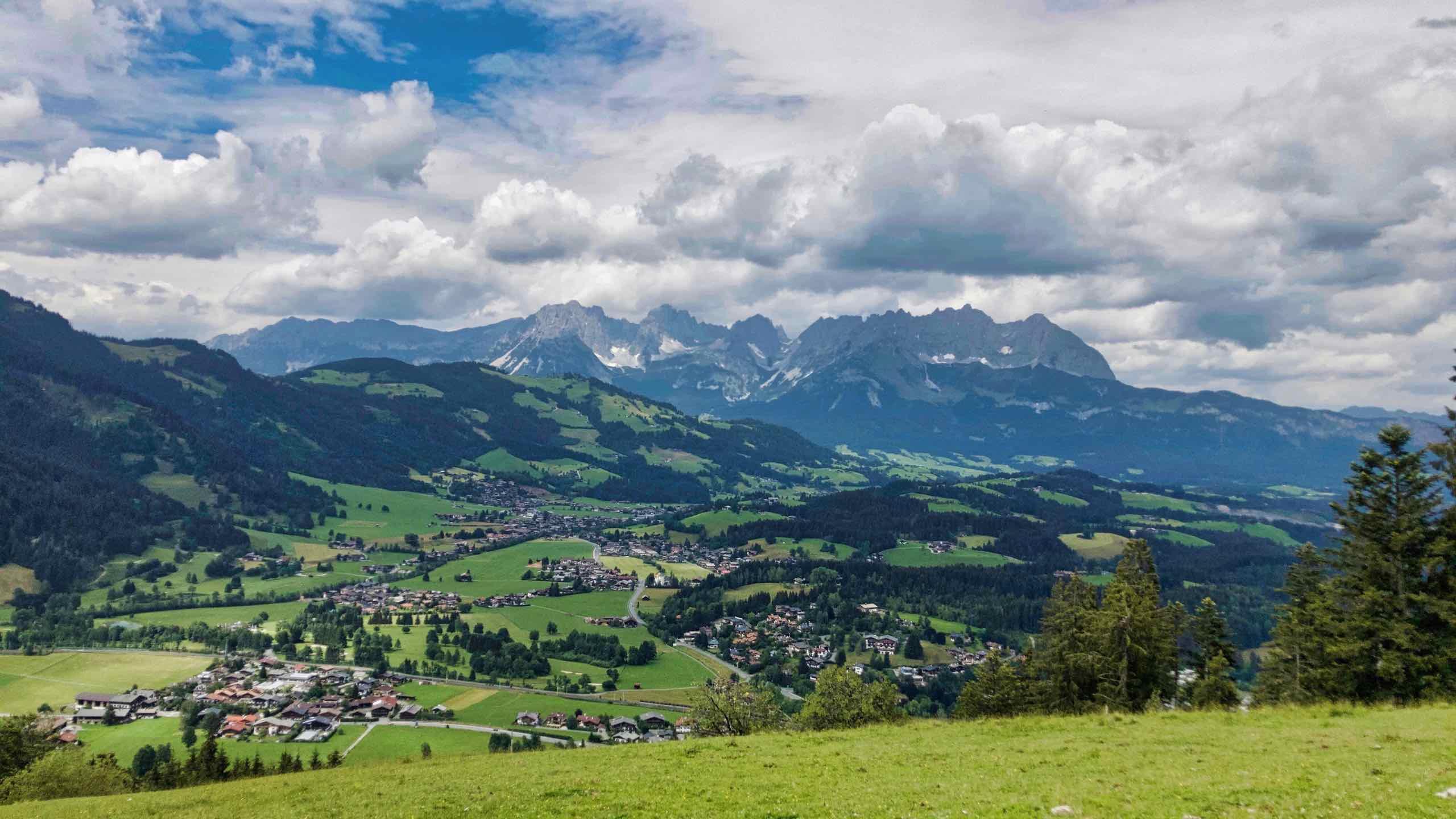 Kitzbühel Wilder Kaiser Almen und Berge