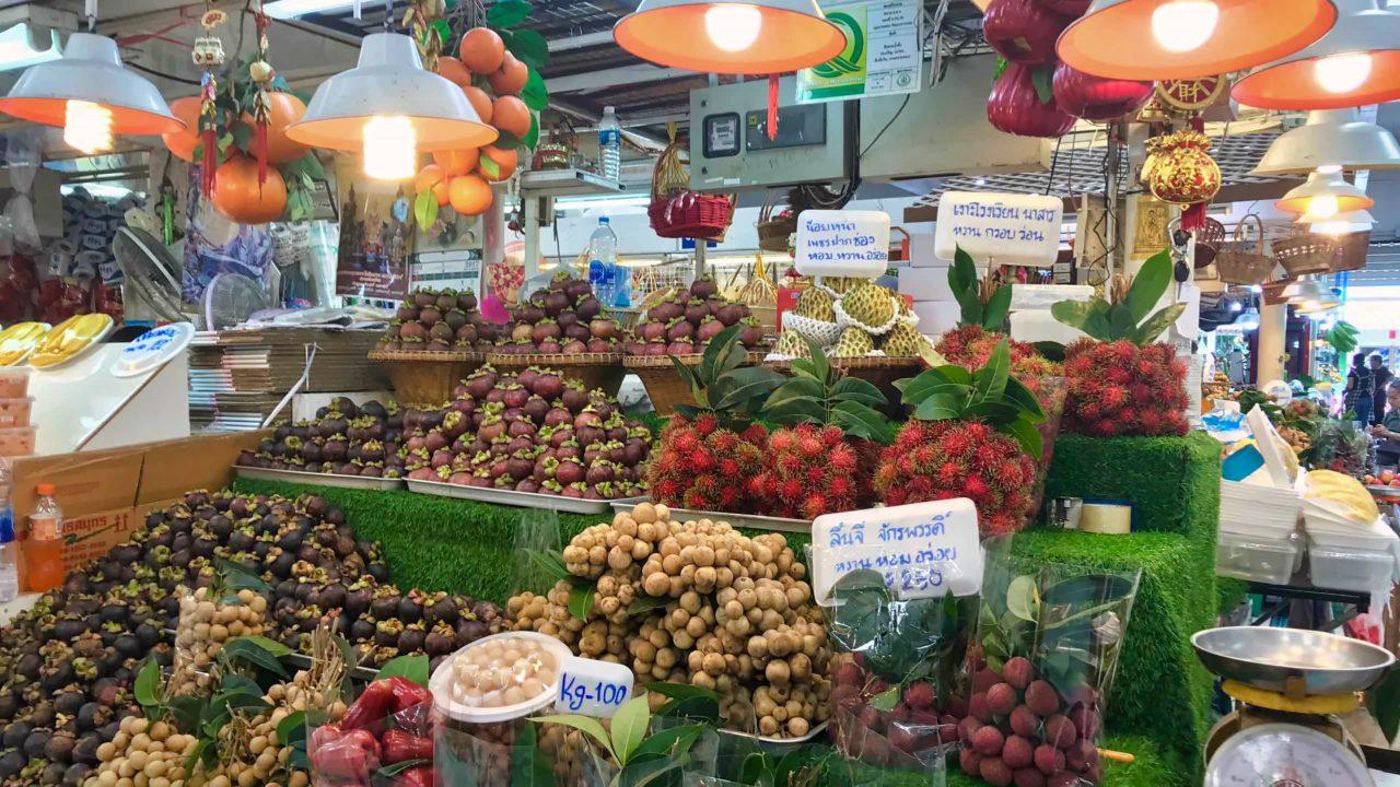 Probieren erwünscht: Es gibt tropische Früchte, die ich noch nie gesehen habe.