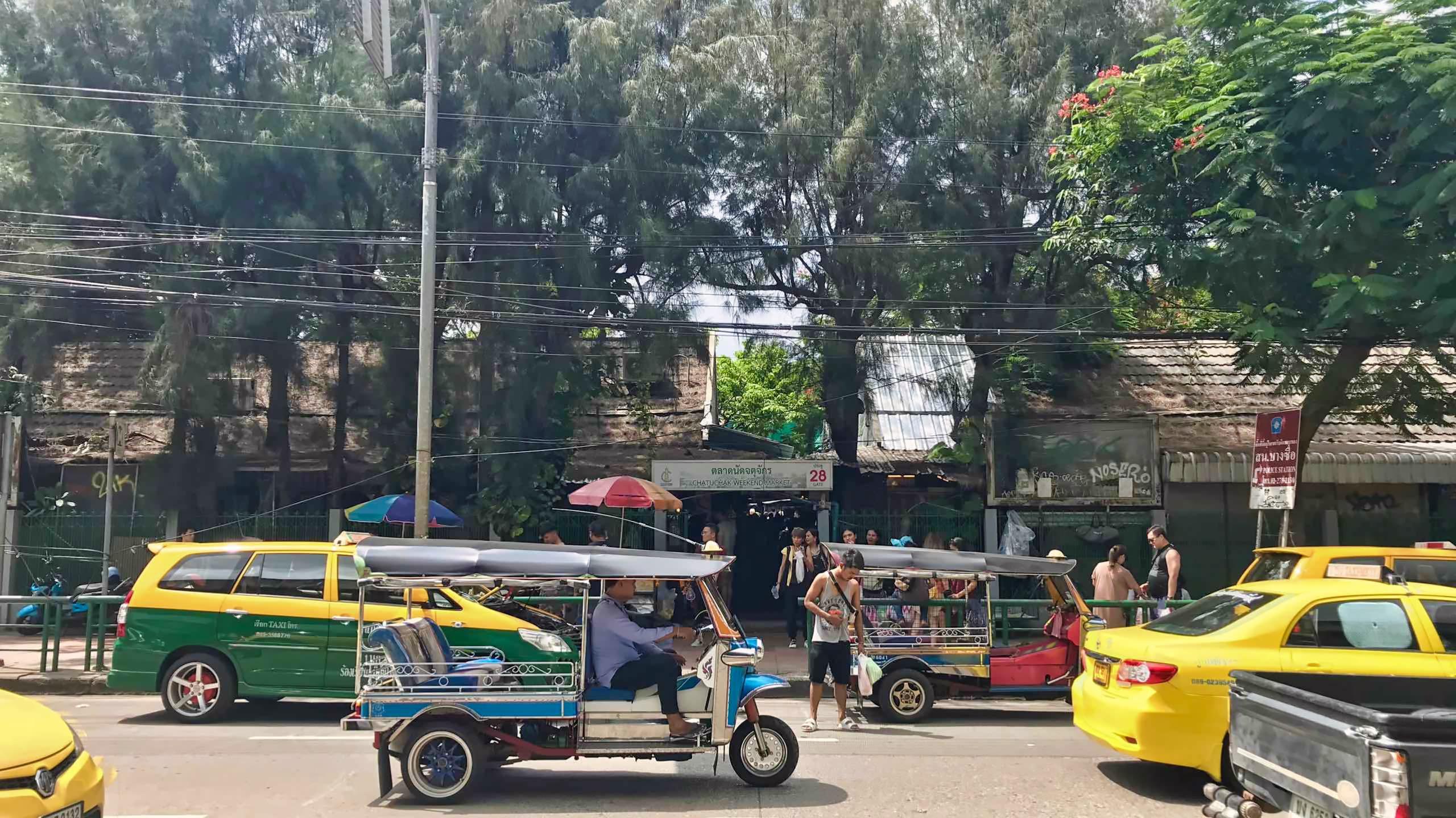 Der Chatuchak Wochenmarkt erfreut sich großer Beliebtheit.