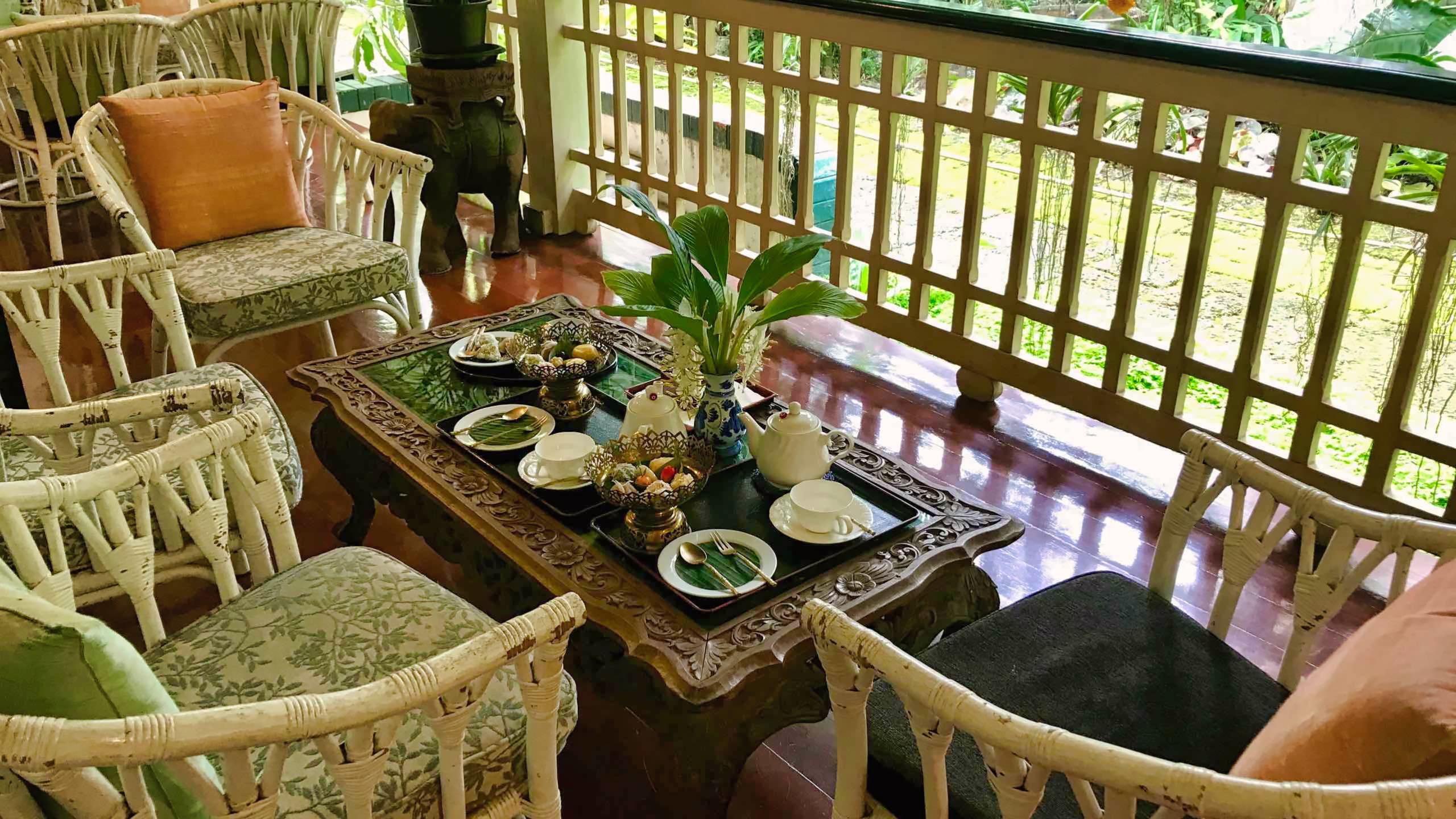 Ein Genuss: Das traditionelle Thai Dessert war nicht so süß wie ich es vermutet hatte.