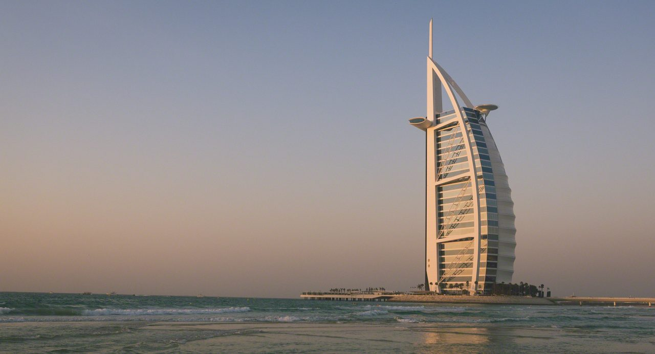 Burj Al Arab: Segel von Dubai. Foto © Mirco Seyfert