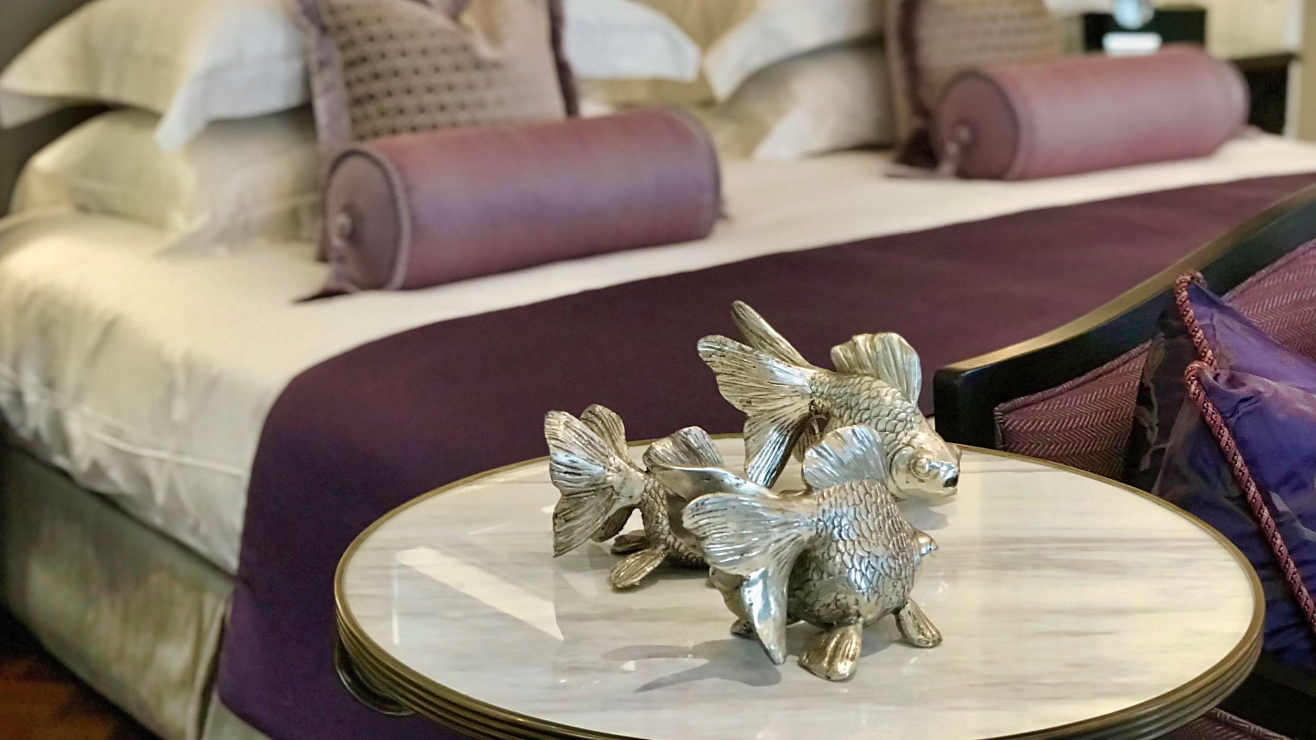 Stilvoll bis ins letzte Detail: Mandarin Oriental Royal Suite.