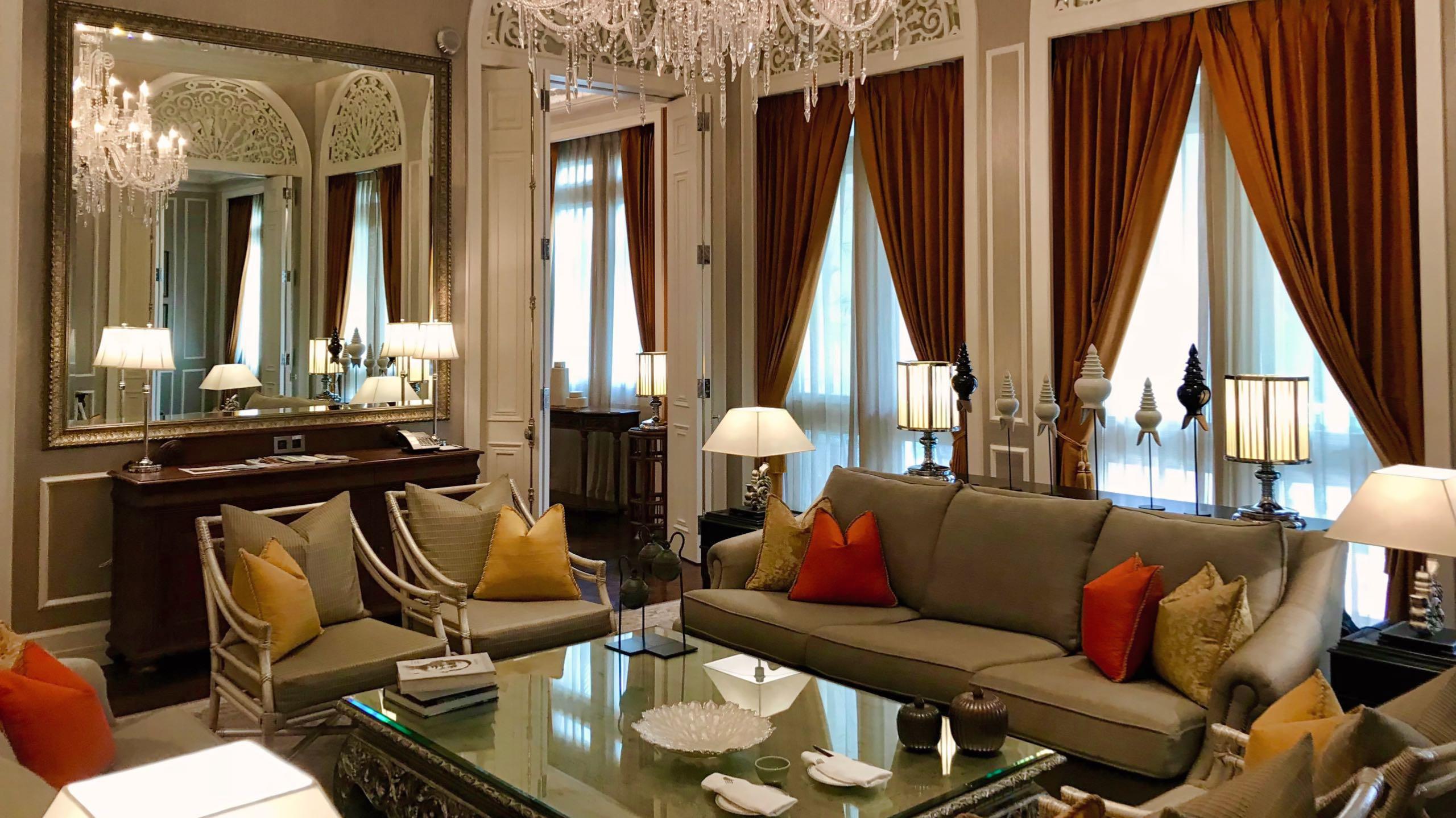 Großartig: Die opulente Mandarin Oriental Royal Suite.