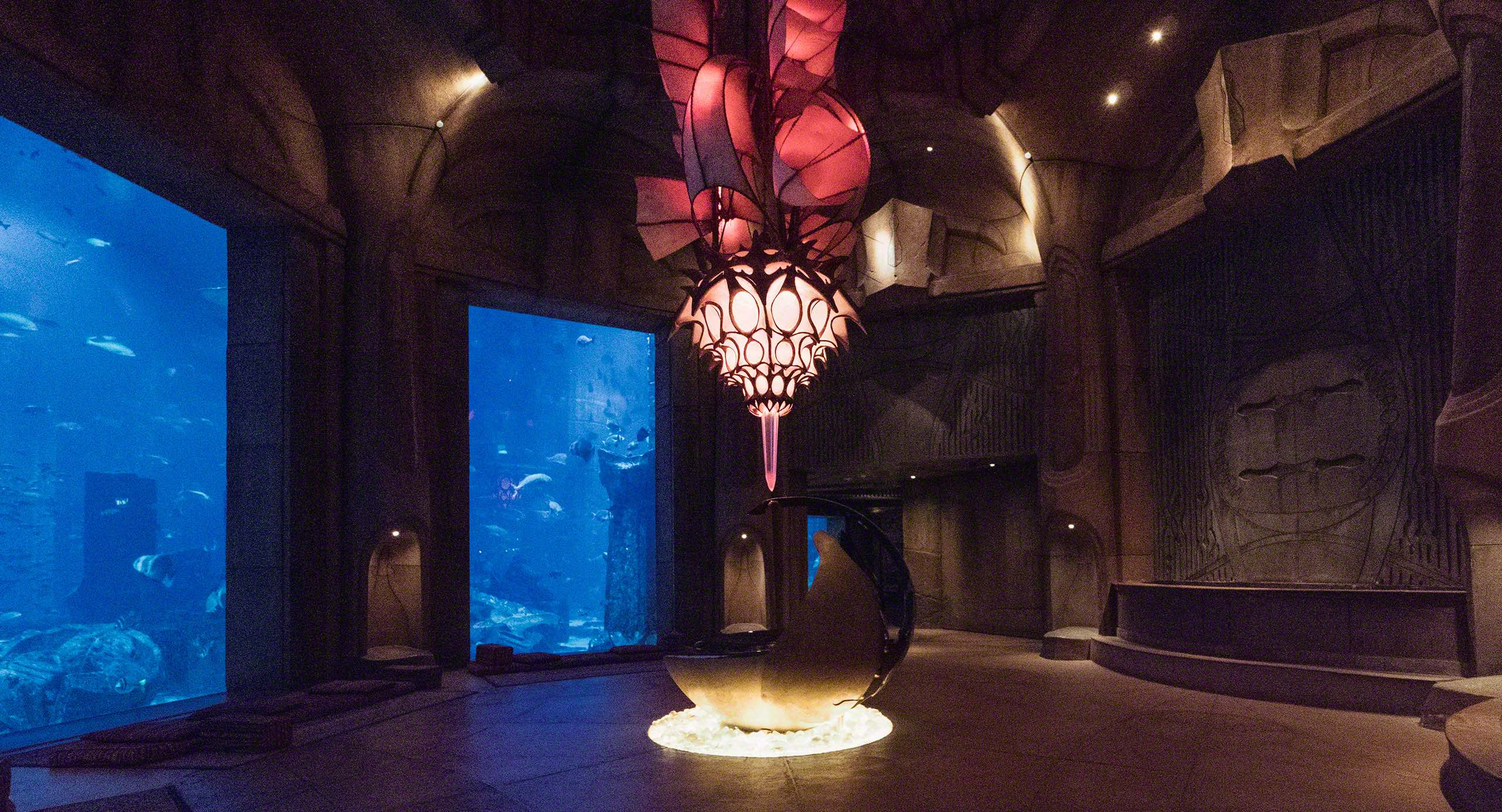 Lost Chambers Aquarium im Atlantis The Palm. Foto © Mirco Seyfert