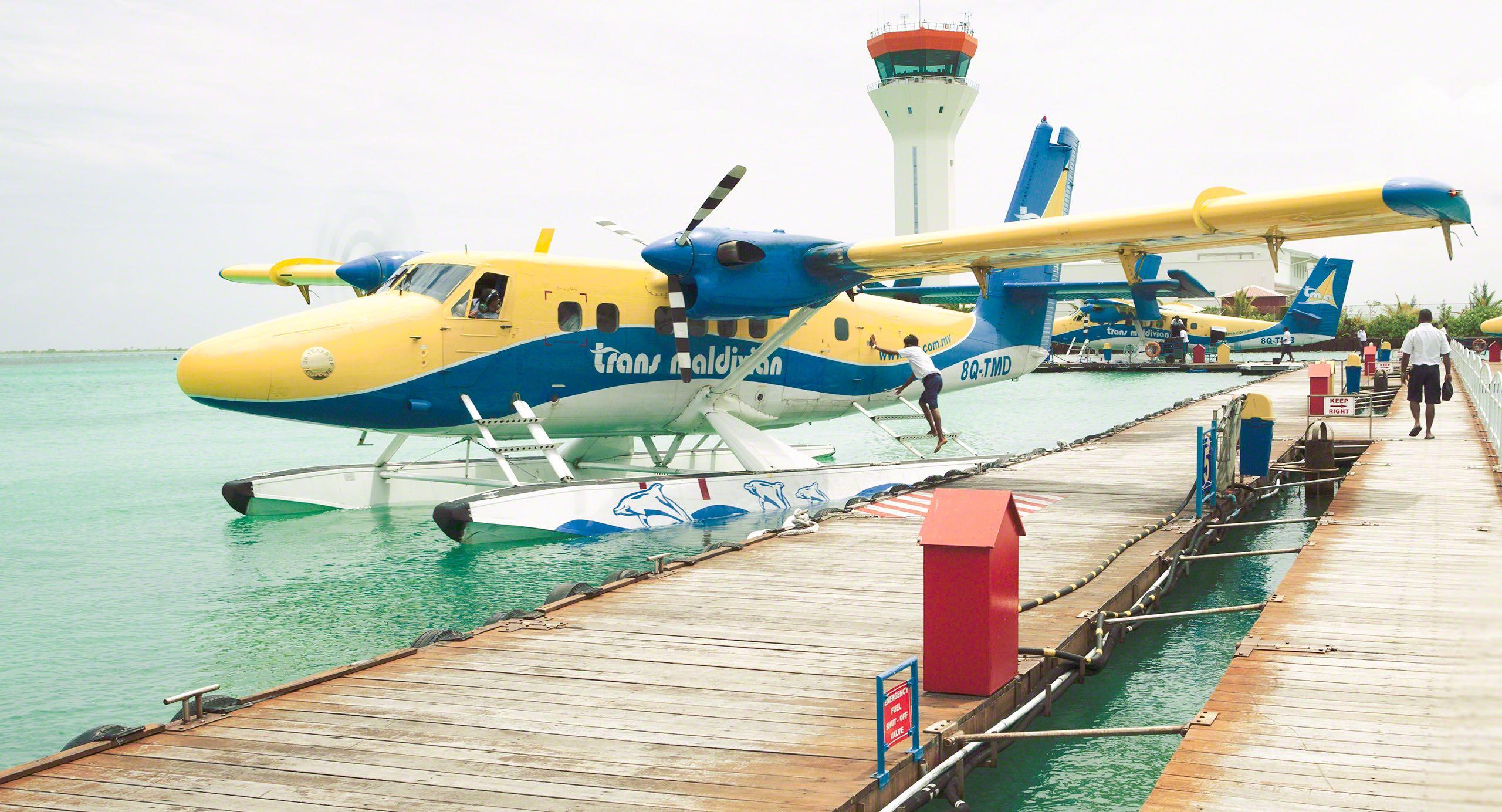 Ein unvergessliches Erlebnis: die Anreise per Wasserflugzeug