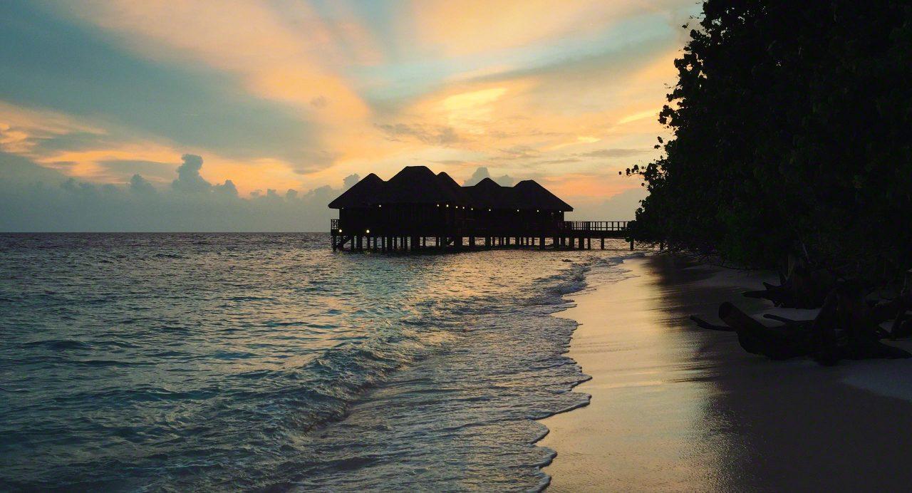 Inselidyll beim Sonnenuntergang. Foto © Mirco Seyfert