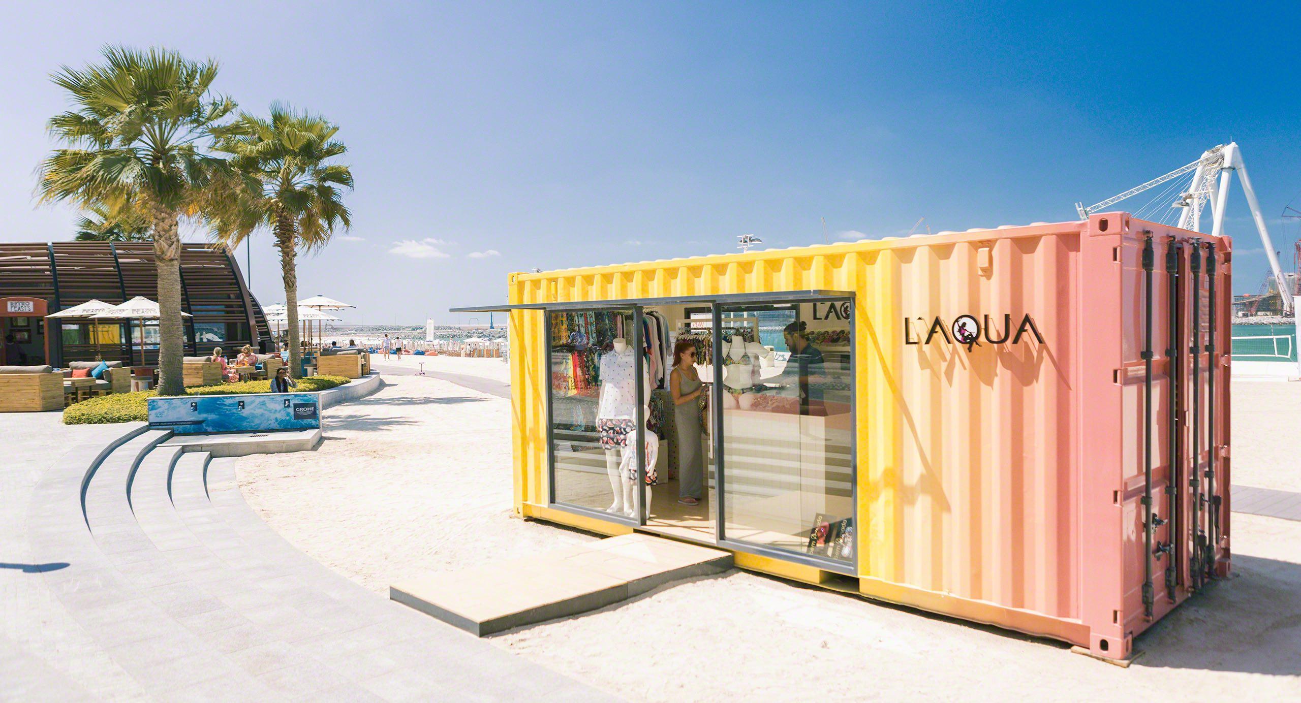 Dubai Kreativ: Kunst-Container als Shop.