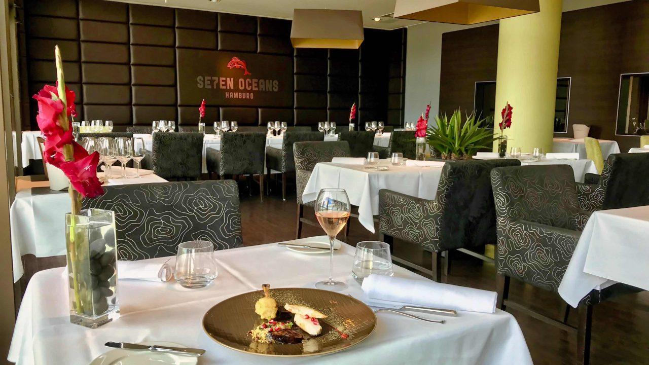 Raffiniert, köstlich und erschwinglich, ein Sterne-Lunch im Restaurant Se7en Oceans.