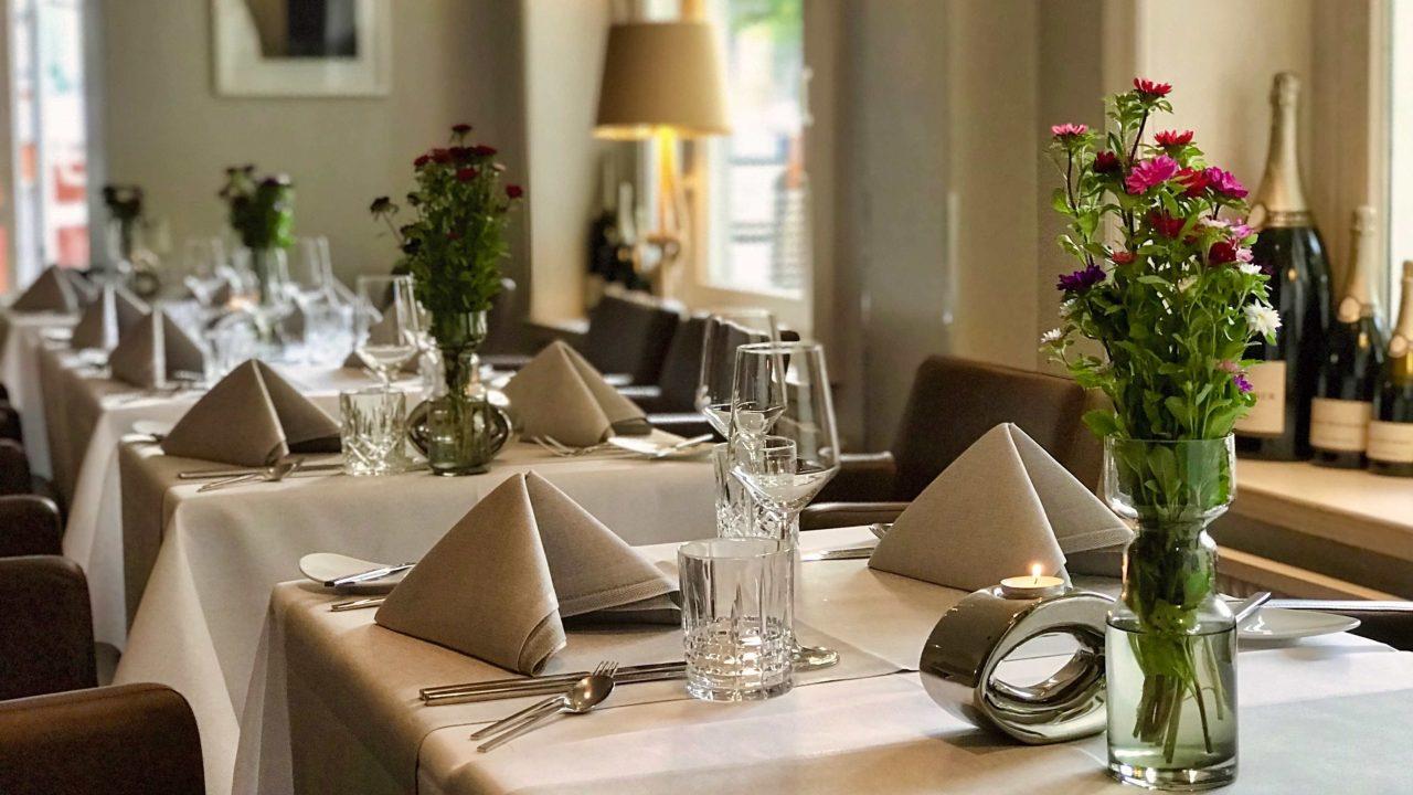 Ausgezeichnete Küche und stilvolles Ambiente, im Hamburger Sterne Restaurant Trüffelschwein.