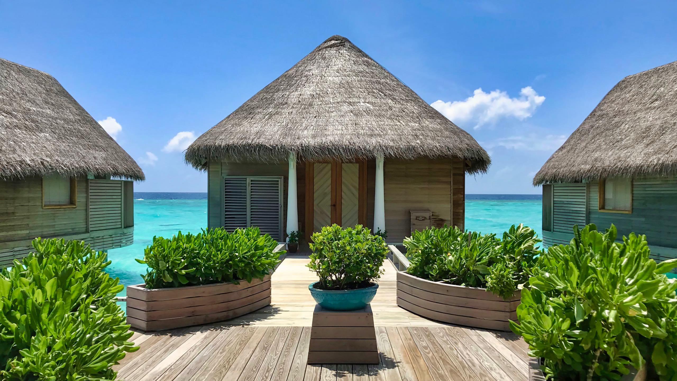 Milaidhoo Island Malediven Over Water Spa Villa