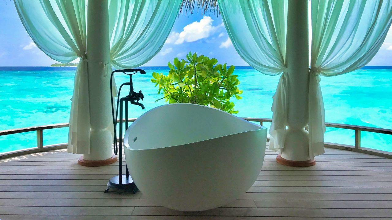 Milaidhoo Island Malediven Spa Villa Badewanne