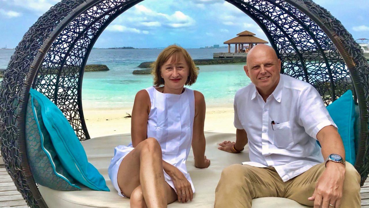 So nahbar, der Kurumba Maldives General Manager berichtet mir über die lange Insel-Geschichte.