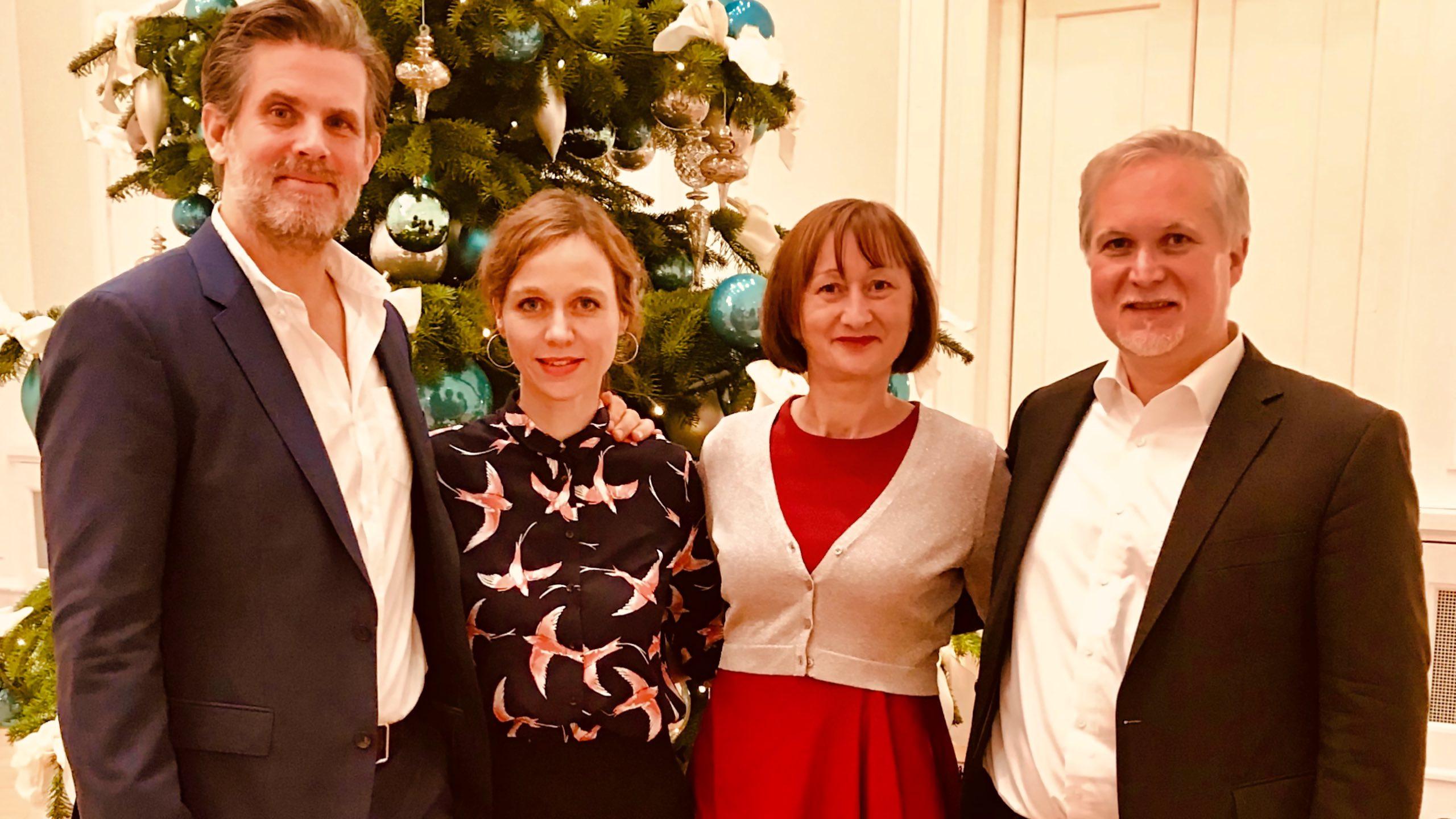 Rilke in Spanien: Nadja Becker, Steffen Groth und Heiko Ossig.