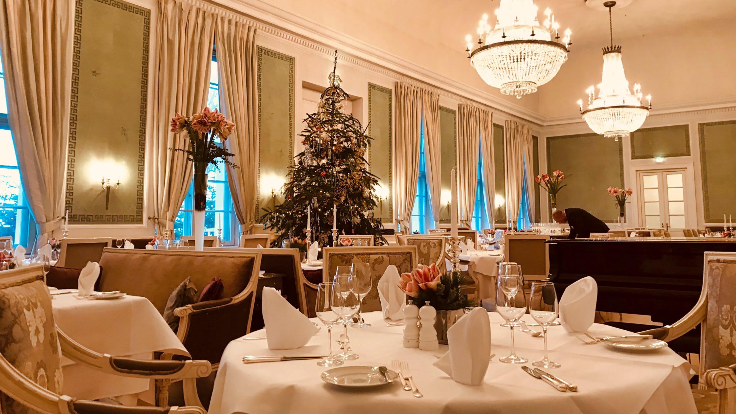 Ein Fest: Das Kurhaus Restaurant Grand Hotel Heiligendamm.Grand Hotel Heiligendamm Kurhaus Restaurant