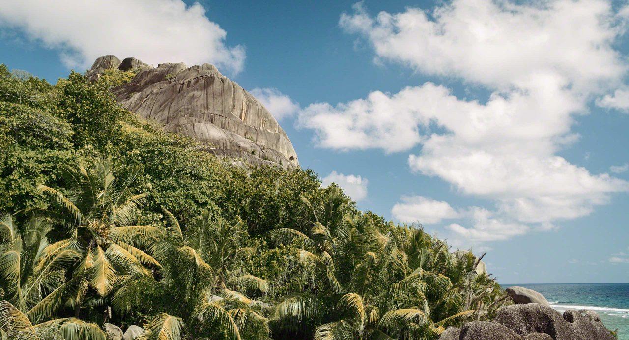 Seychellen Wanderung am Anse Source d'Argent, La Digue © Mirco Seyfert