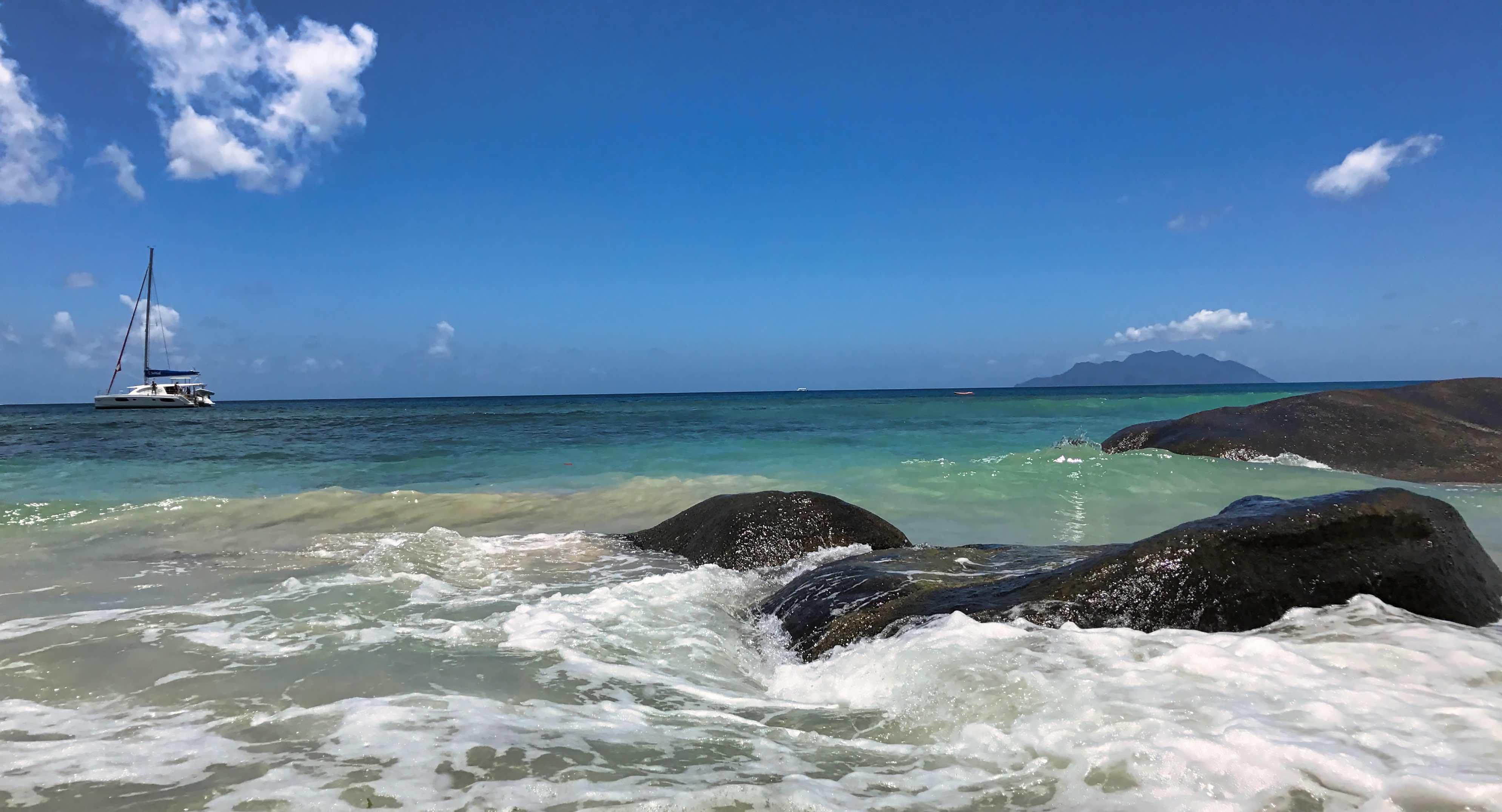 Seychellen Idyll am Beau Vallon.