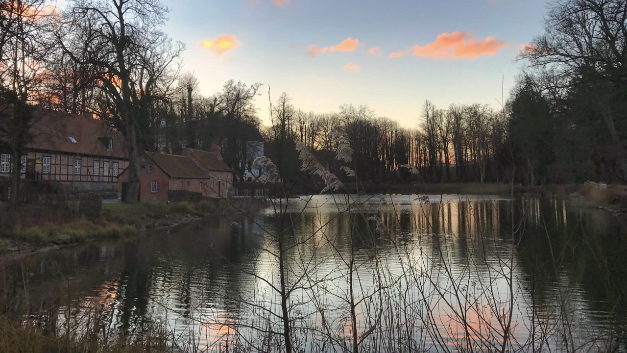 Der Weissenhaus Schlossteich, eine Oase der Ruhe.